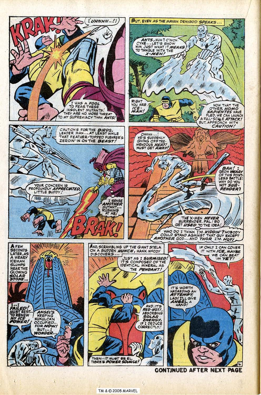 Read online Uncanny X-Men (1963) comic -  Issue #74 - 24