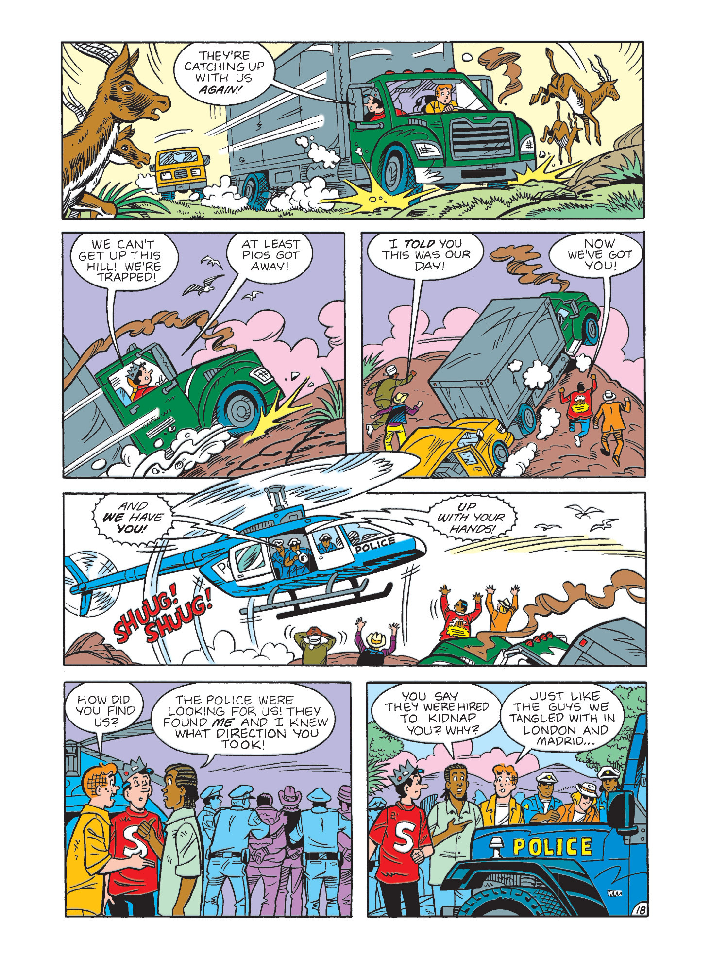 Read online Archie's Funhouse Double Digest comic -  Issue #3 - 54
