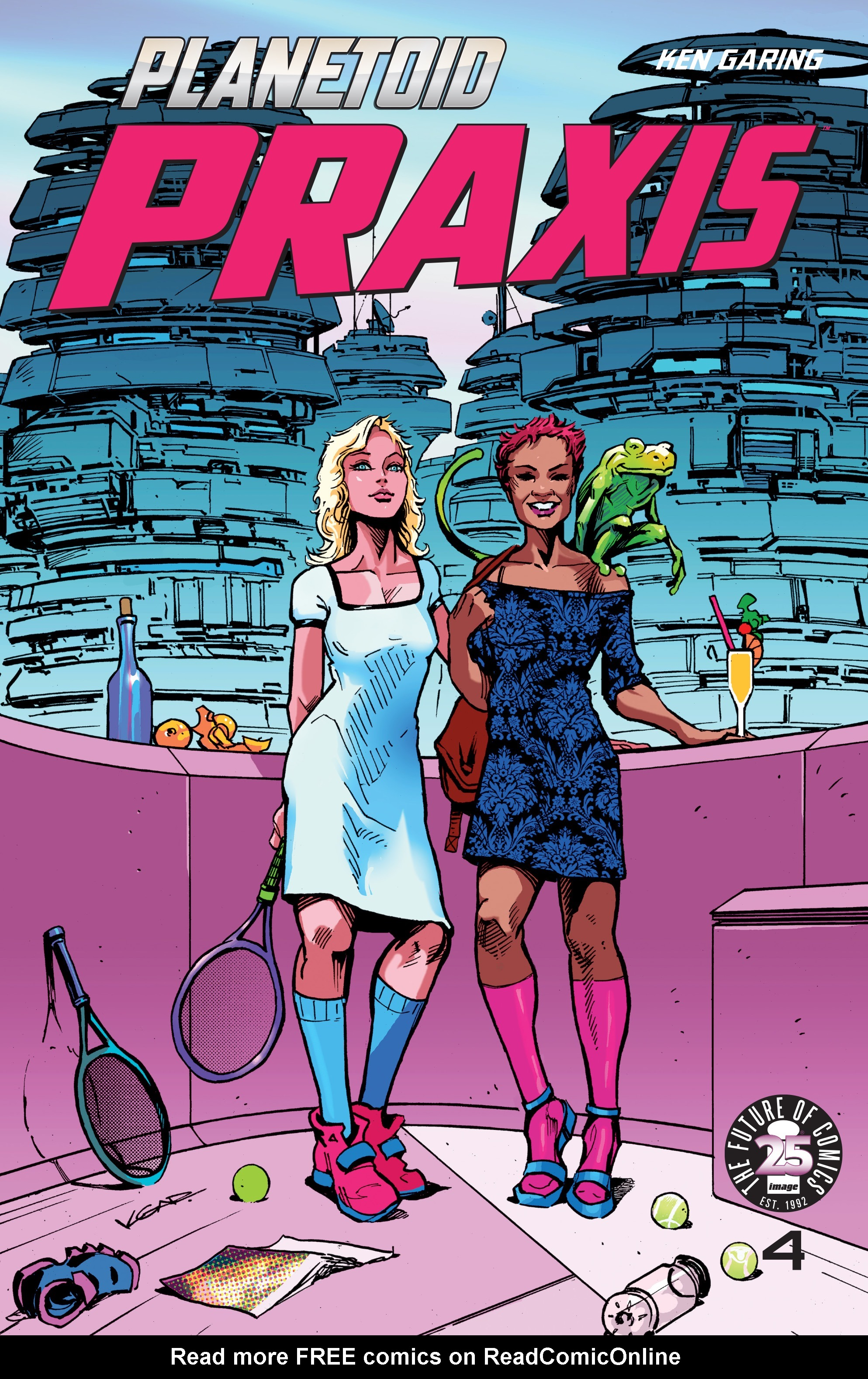 Read online Planetoid Praxis comic -  Issue #4 - 1