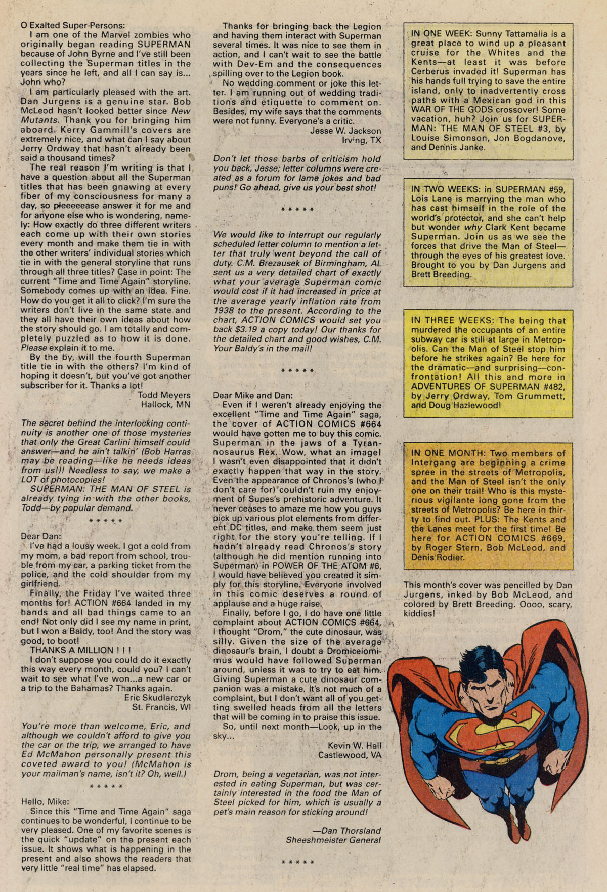Read online Action Comics (1938) comic -  Issue #668 - 33