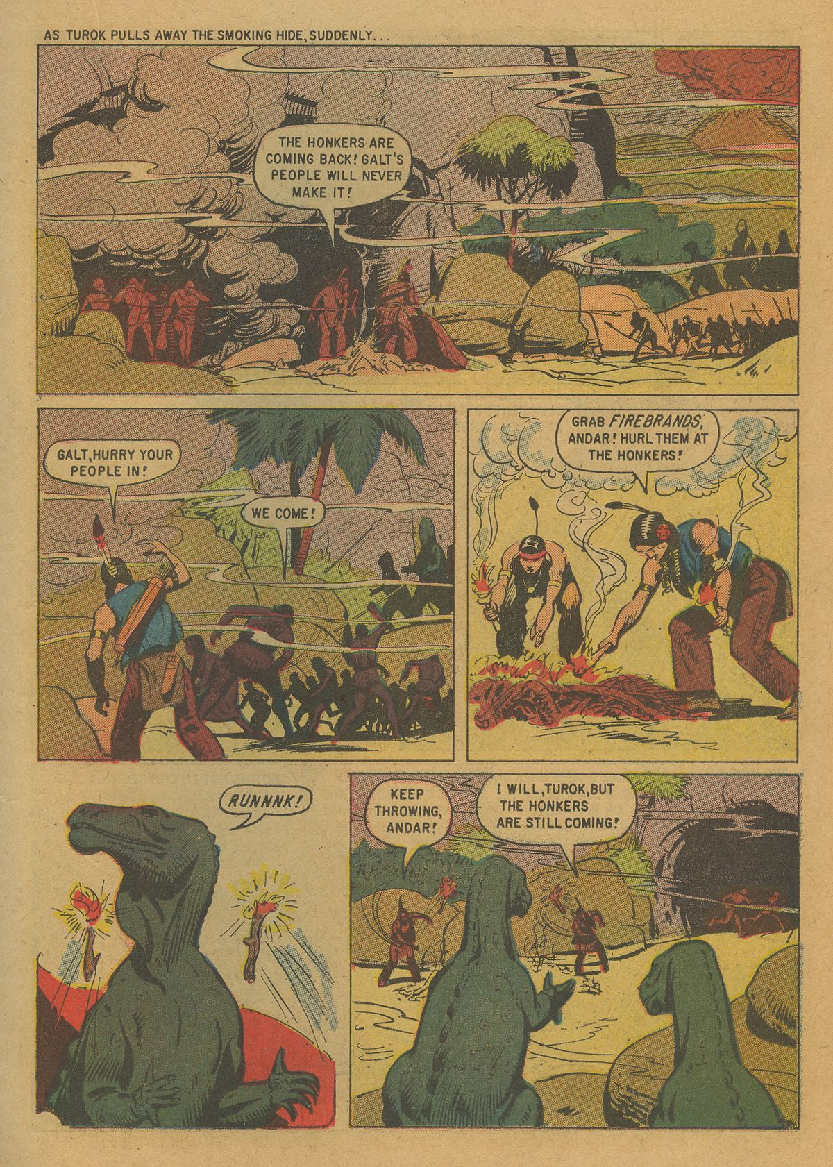 Read online Turok, Son of Stone comic -  Issue #20 - 15