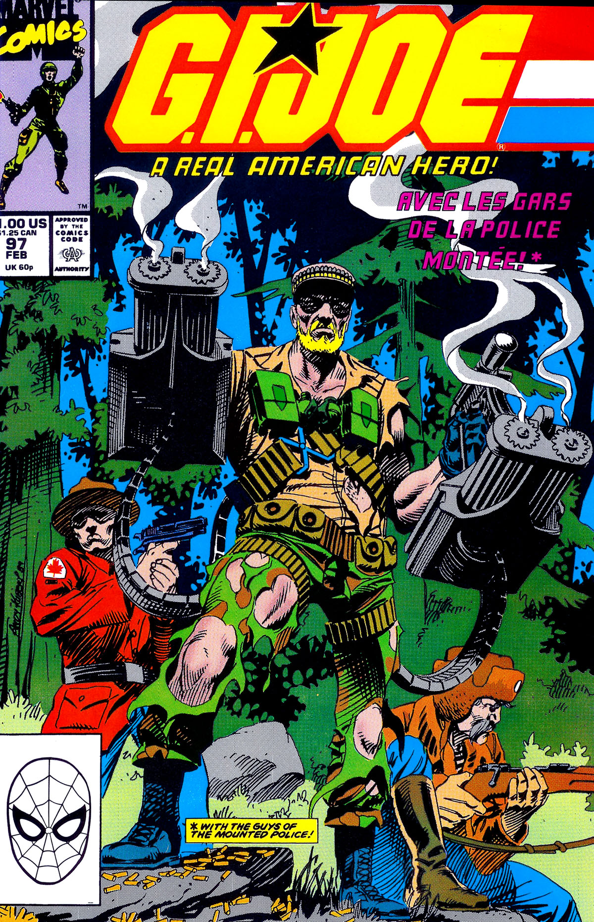 G.I. Joe: A Real American Hero 97 Page 1