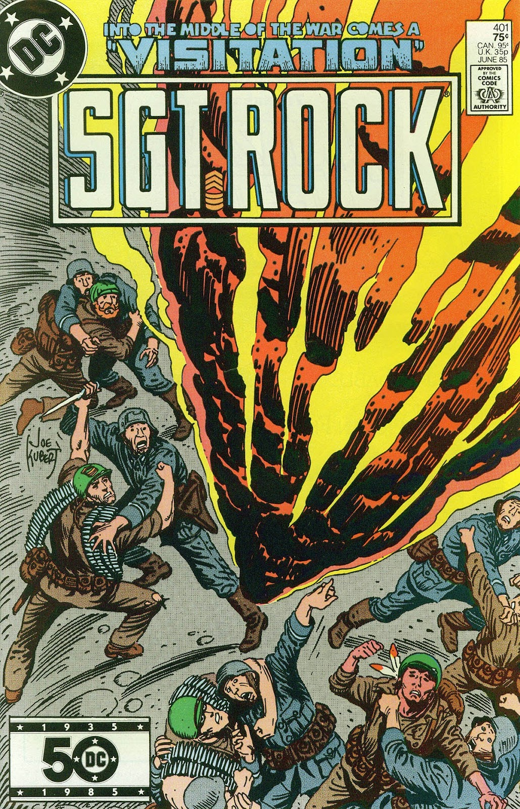 Sgt. Rock issue 401 - Page 1