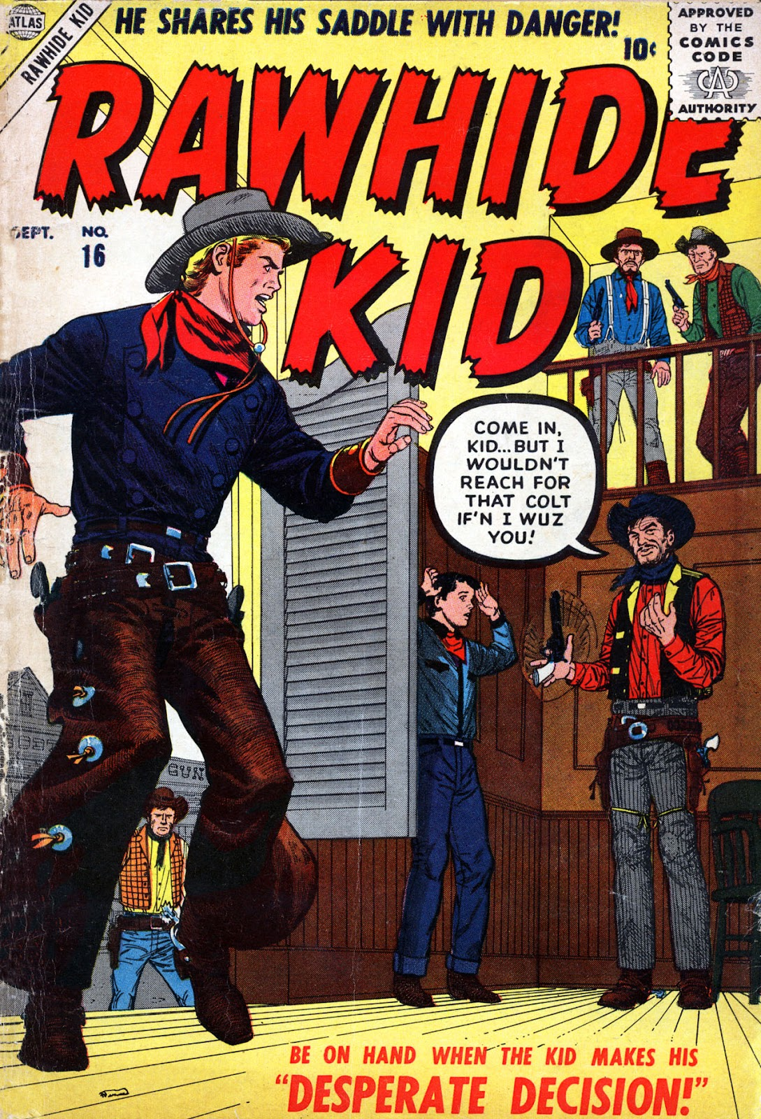 The Rawhide Kid (1955) issue 16 - Page 1