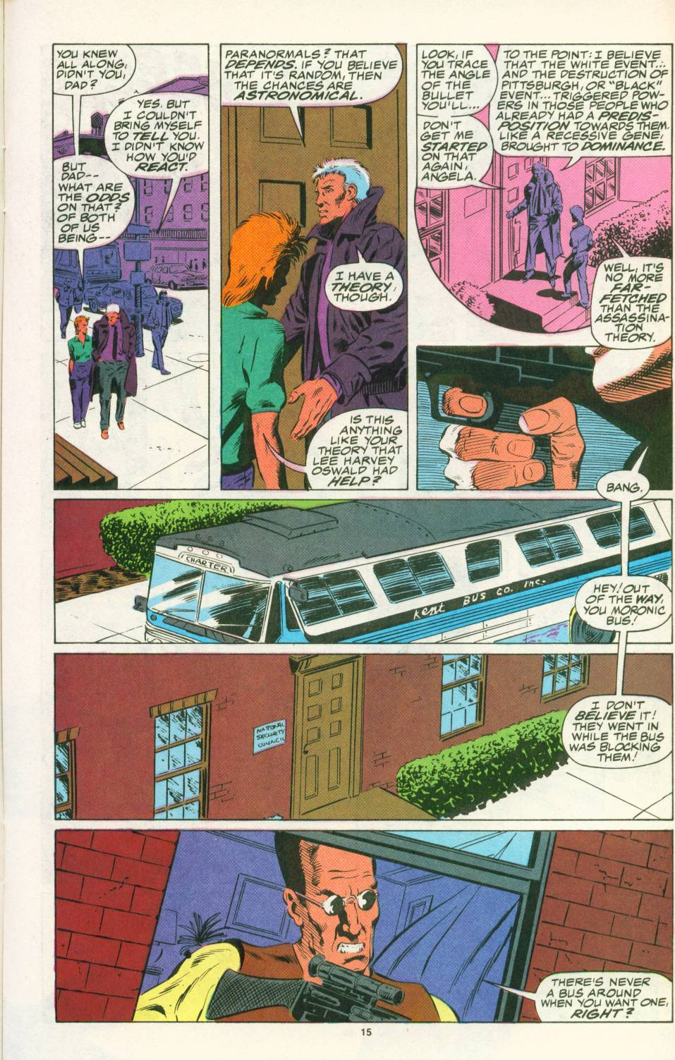 Read online Justice (1986) comic -  Issue #25 - 17