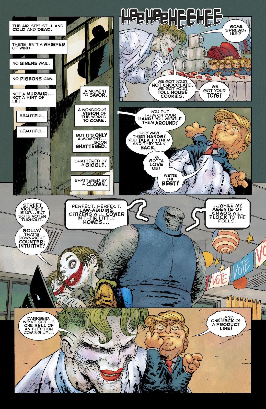 Dark Knight Returns: The Golden Child issue Full - Page 15