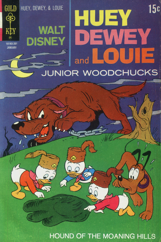 Huey, Dewey, and Louie Junior Woodchucks 12 Page 1