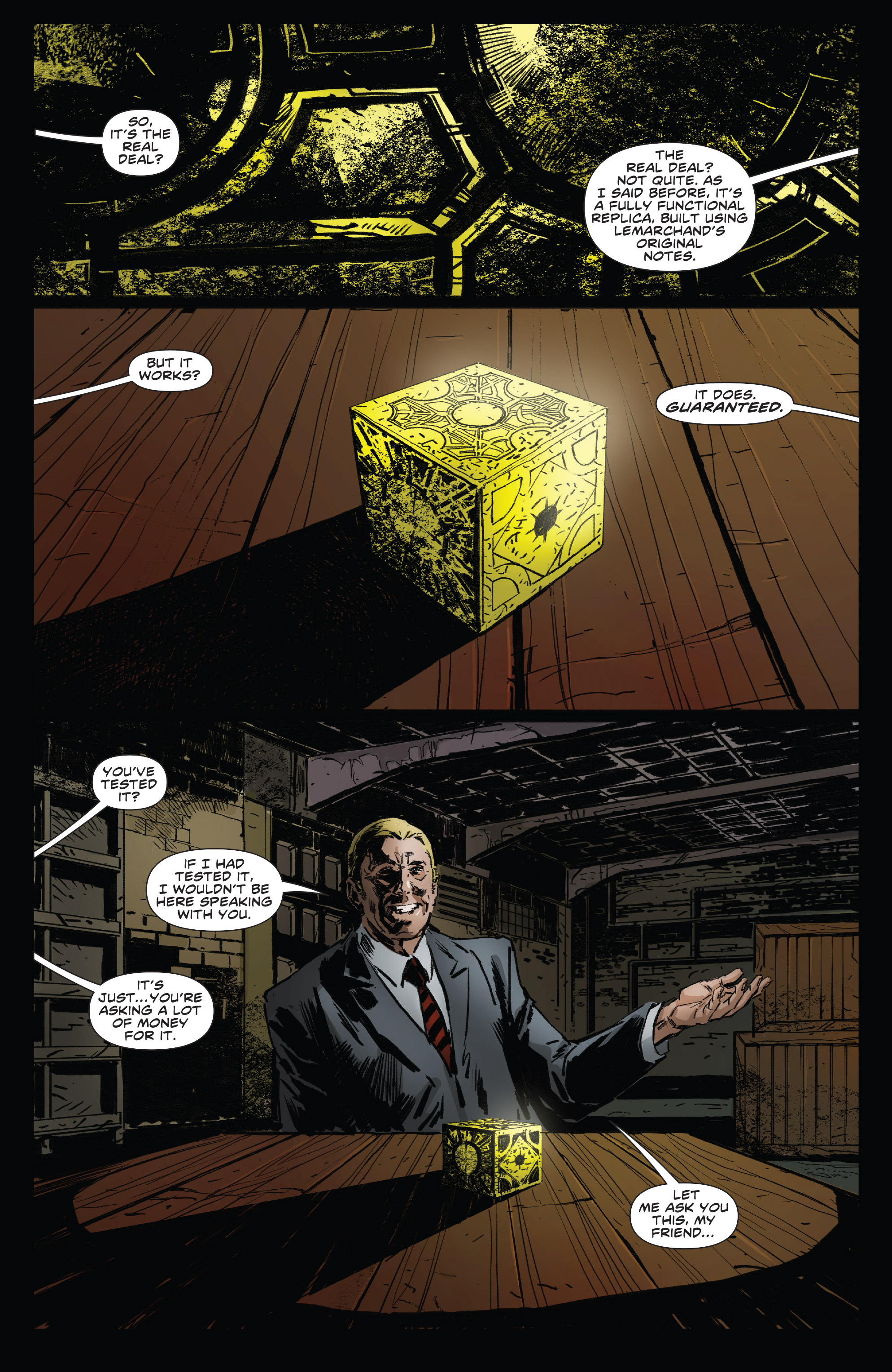 Read online Clive Barker's Hellraiser: The Dark Watch comic -  Issue # TPB 3 - 15