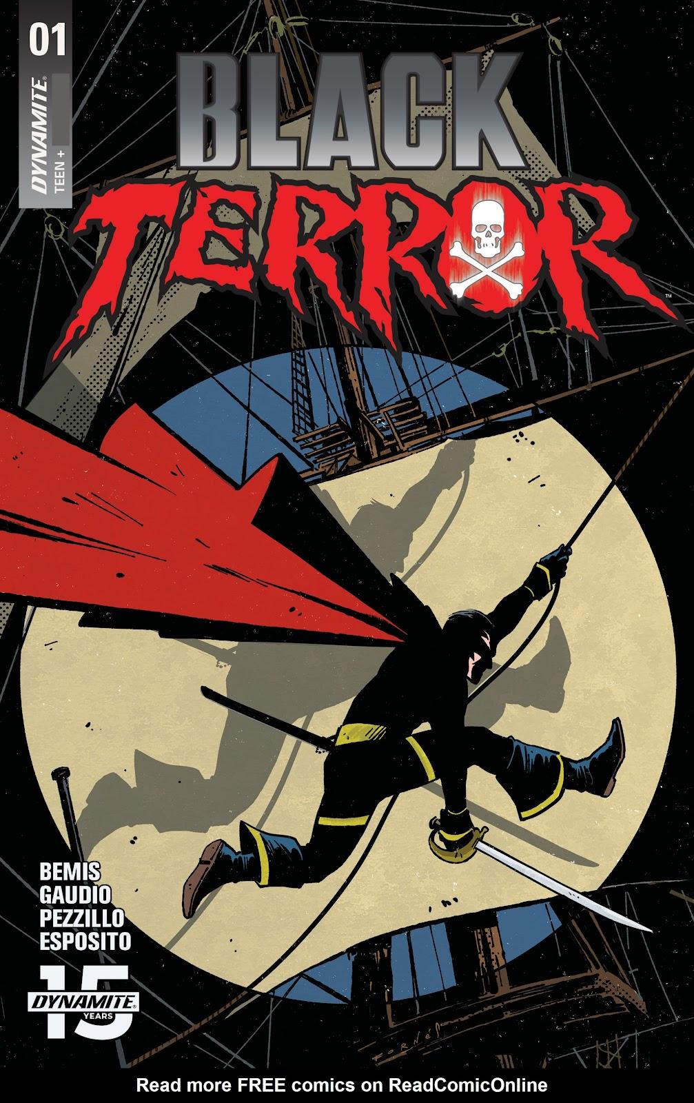 Read online Black Terror (2019) comic -  Issue # Full - 2