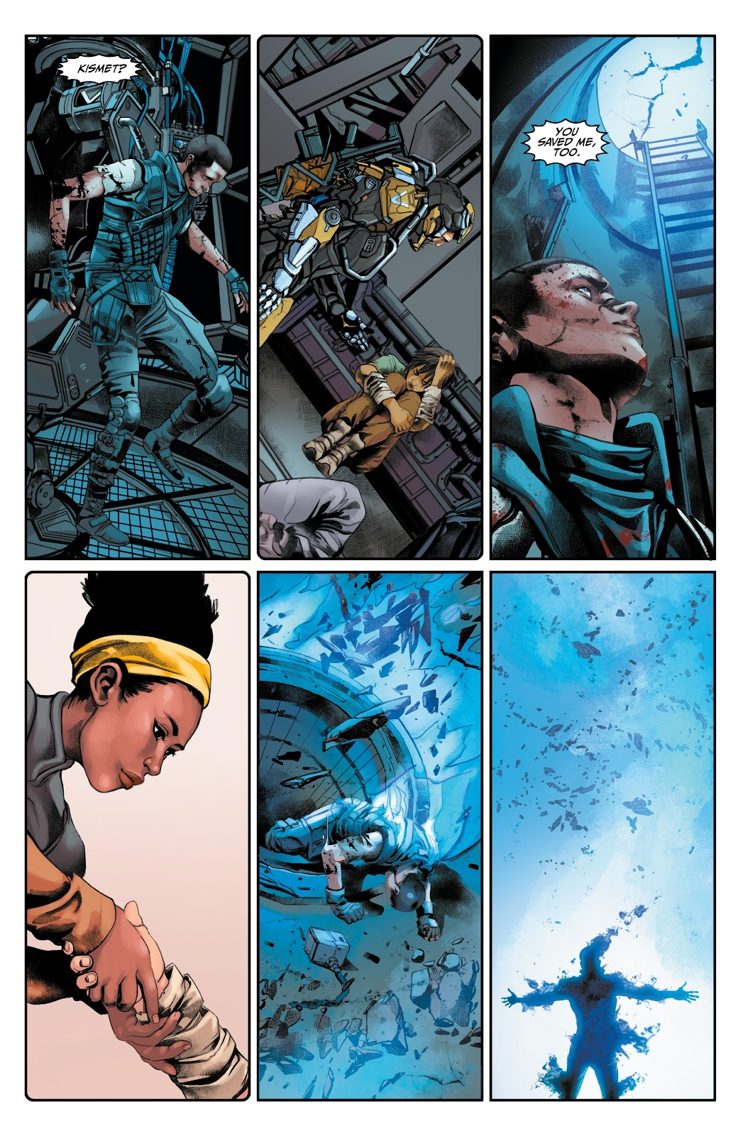 Read online Anthem comic -  Issue #3 - 19