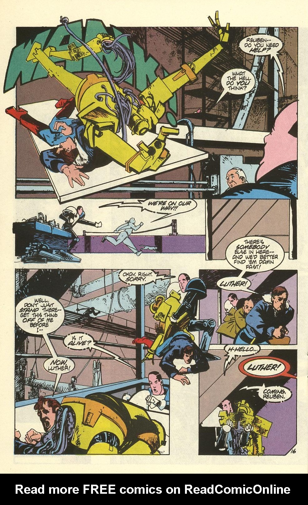 Read online American Flagg! comic -  Issue #41 - 20