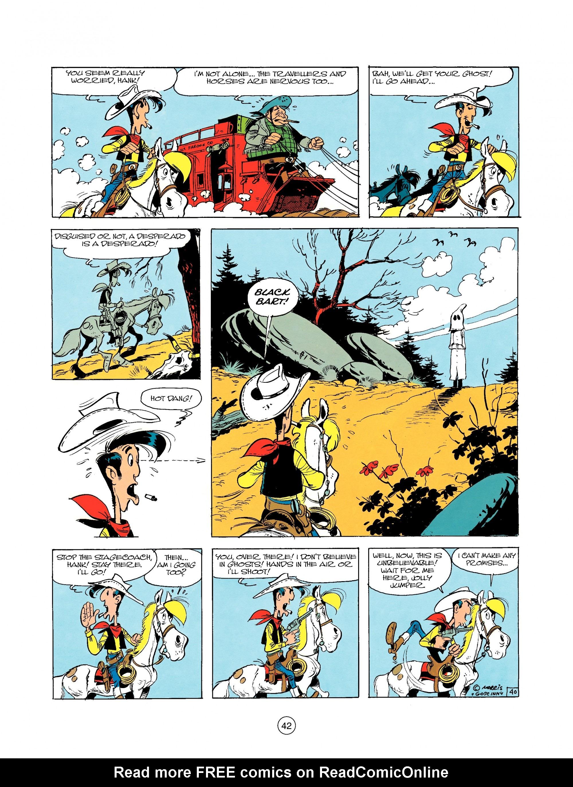 Read online A Lucky Luke Adventure comic -  Issue #25 - 42