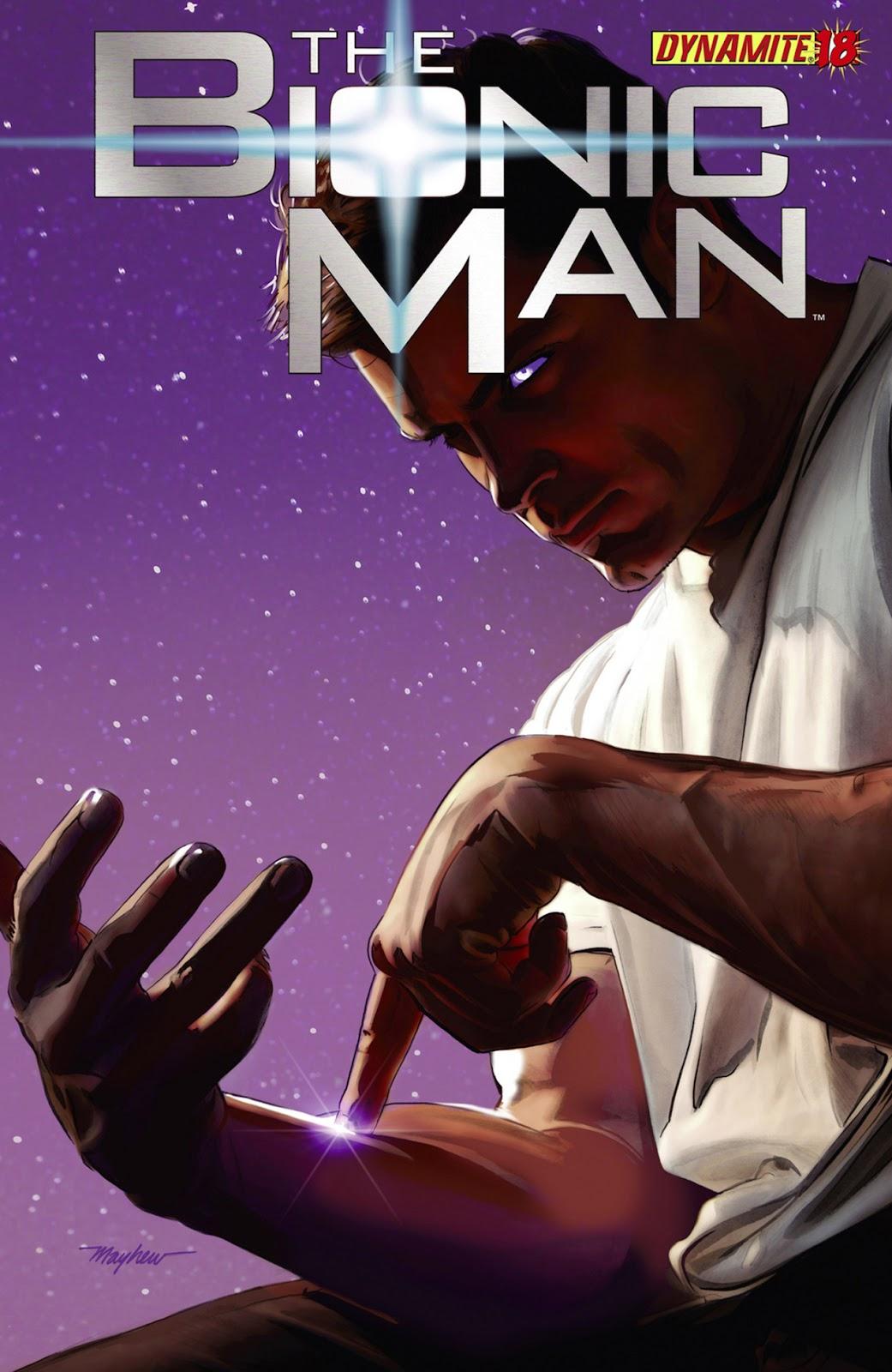 Bionic Man 18 Page 1
