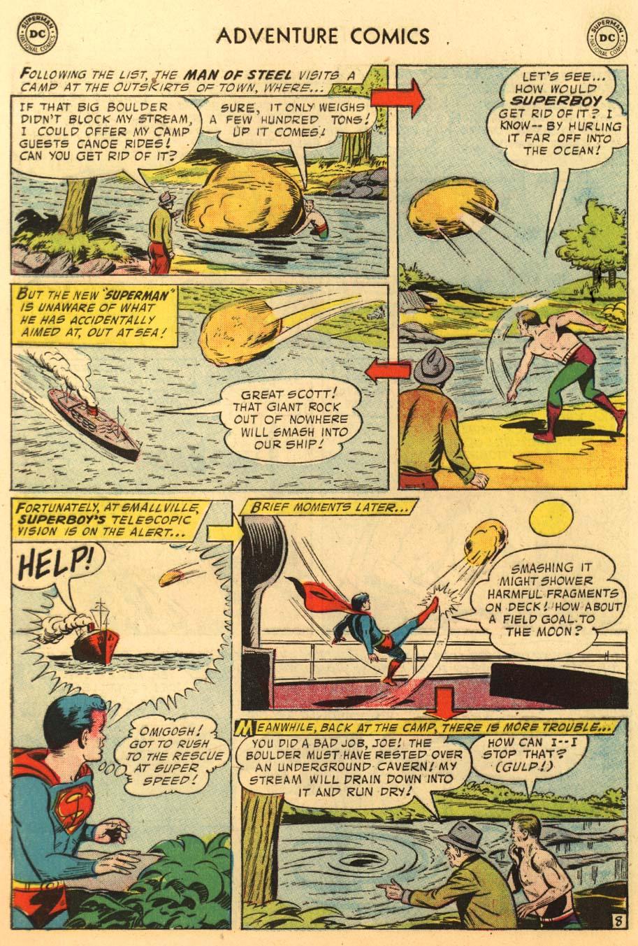 Read online Adventure Comics (1938) comic -  Issue #233 - 10