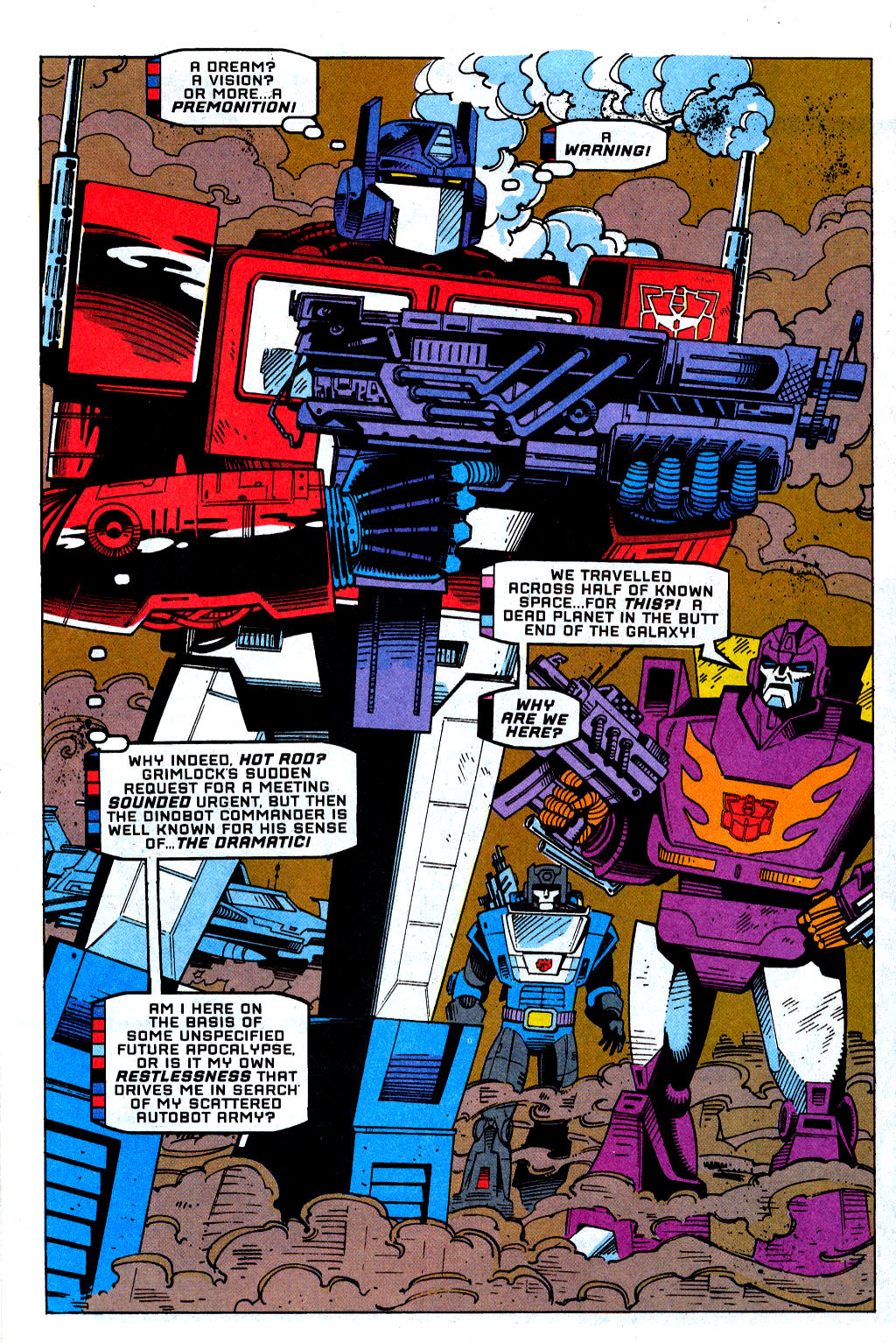 Read online Transformers: Generation 2 comic -  Issue #1 - 15