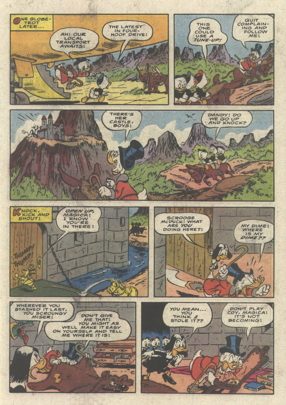 Read online Uncle Scrooge (1953) comic -  Issue #232 - 19