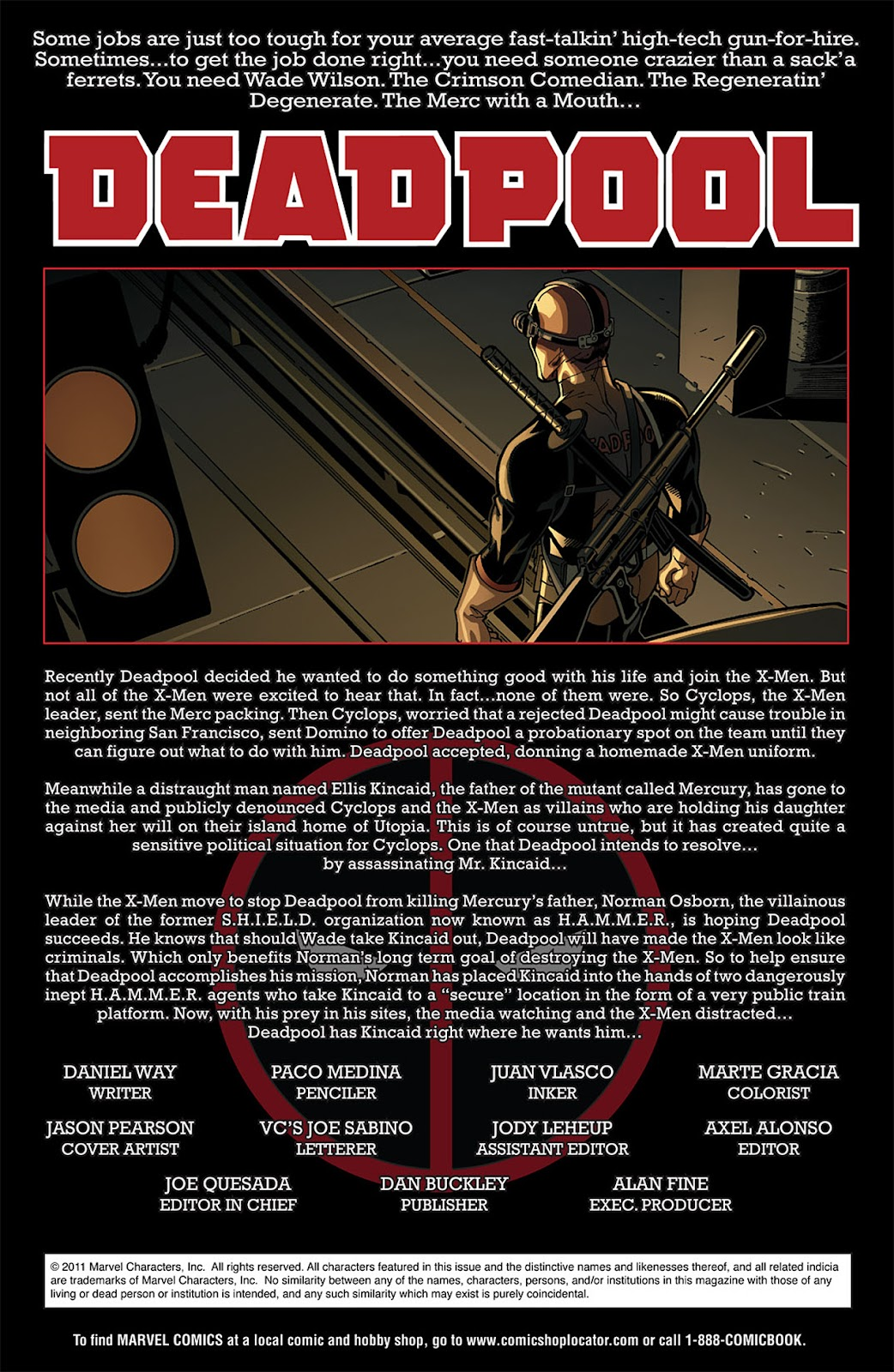 Read online Deadpool (2008) comic -  Issue #18 - 2