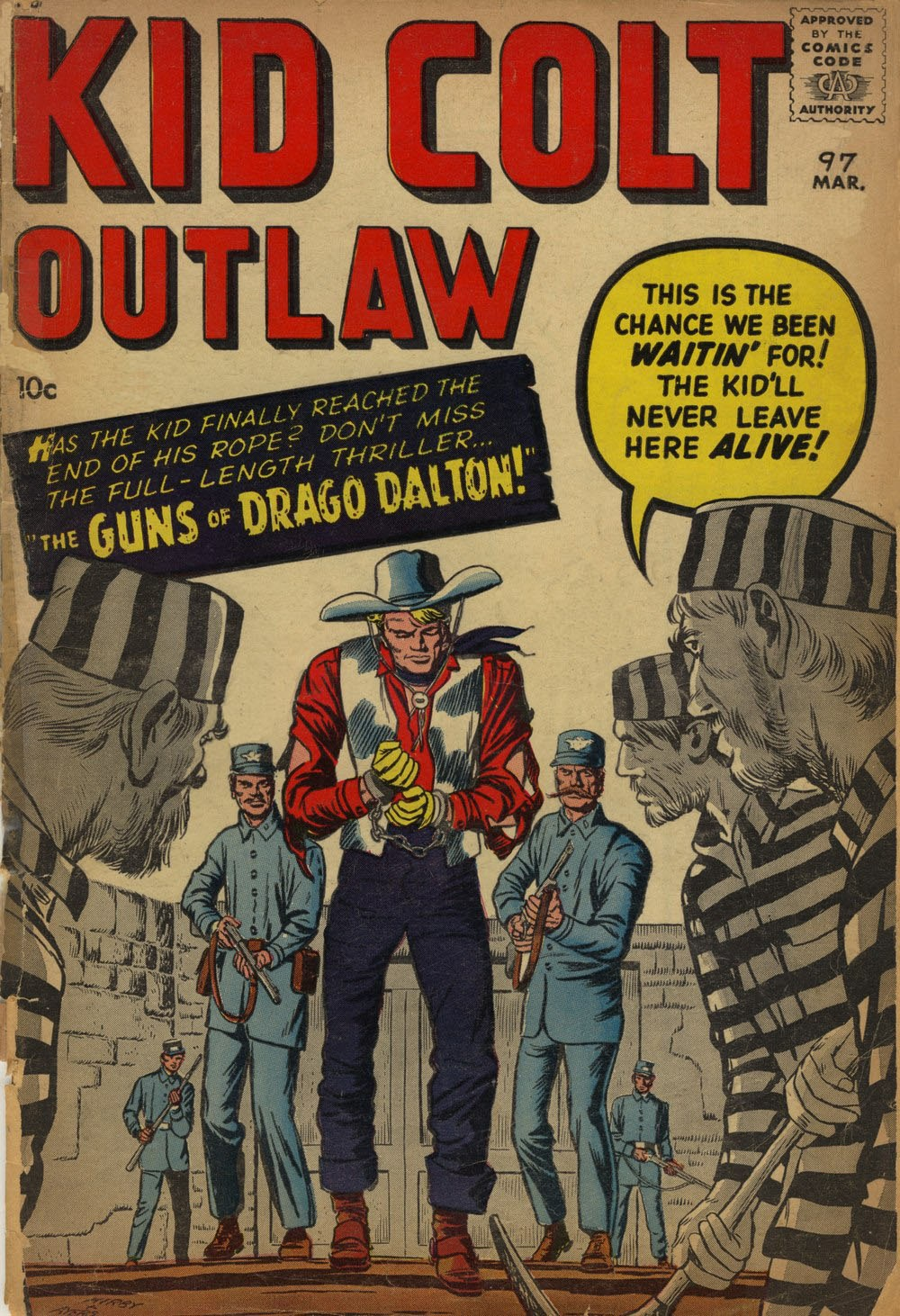 Kid Colt Outlaw issue 97 - Page 1