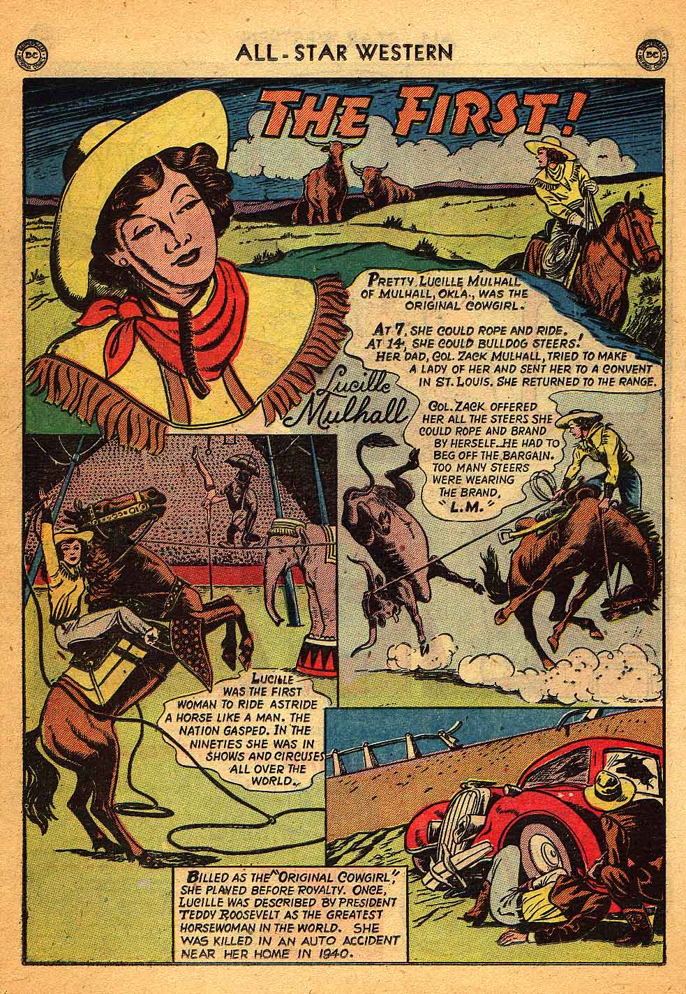 Read online All-Star Western (1951) comic -  Issue #58 - 38