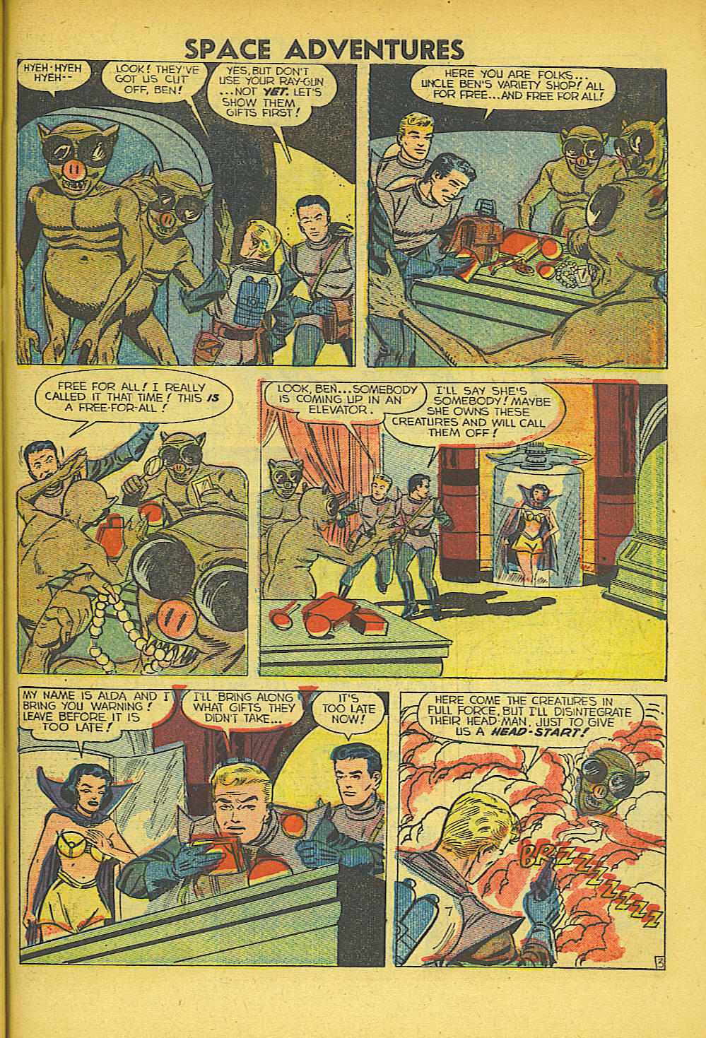 Space Adventures (1952) issue 5 - Page 28