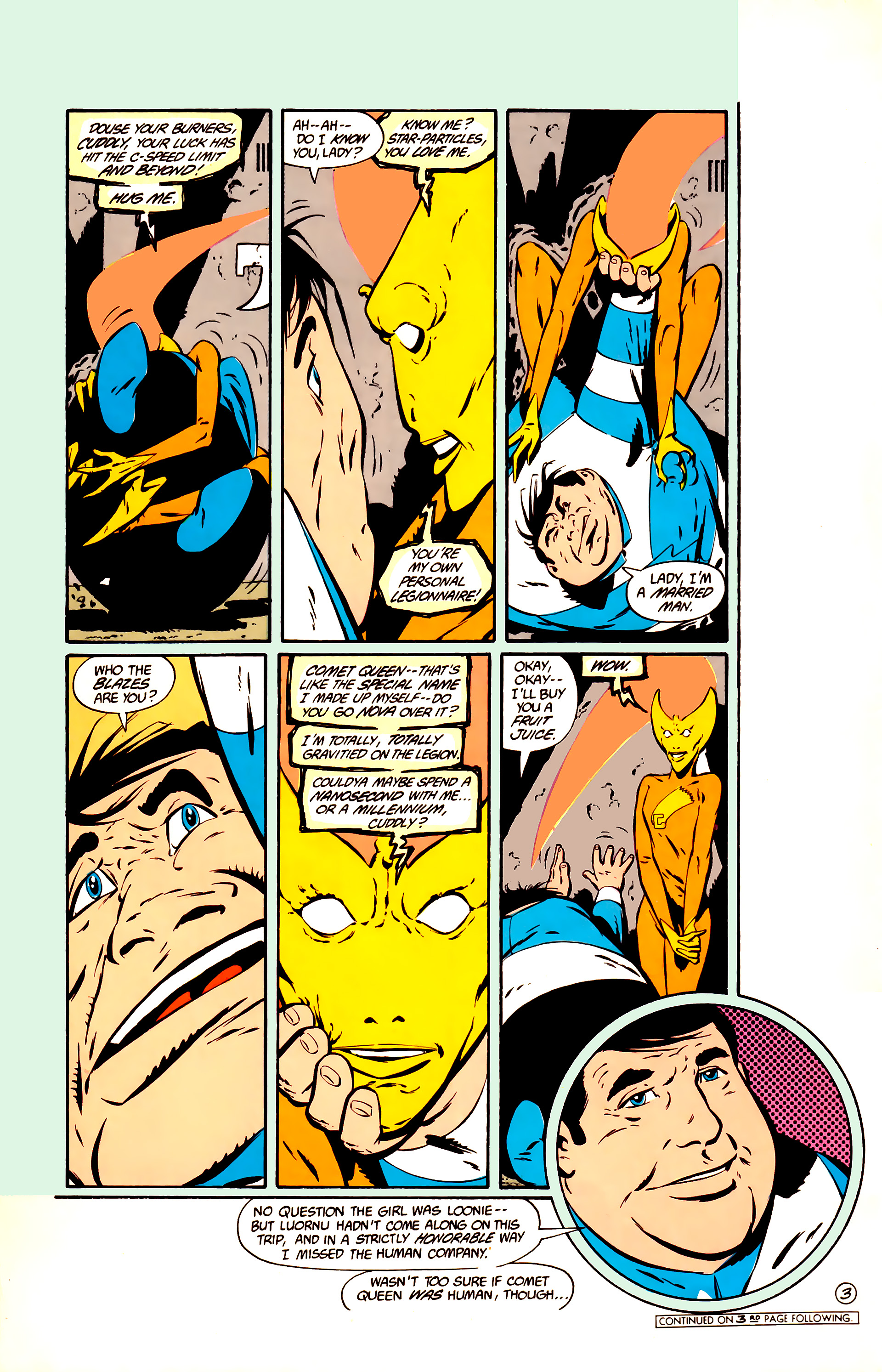 Legion of Super-Heroes (1984) 11 Page 16