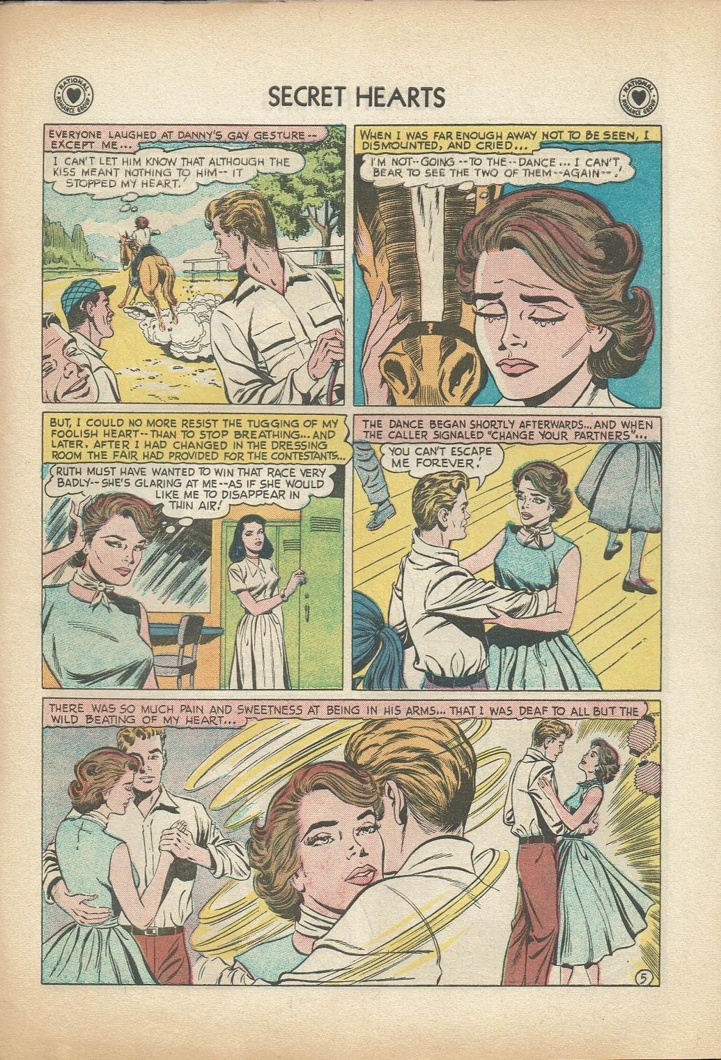 Read online Secret Hearts comic -  Issue #47 - 31