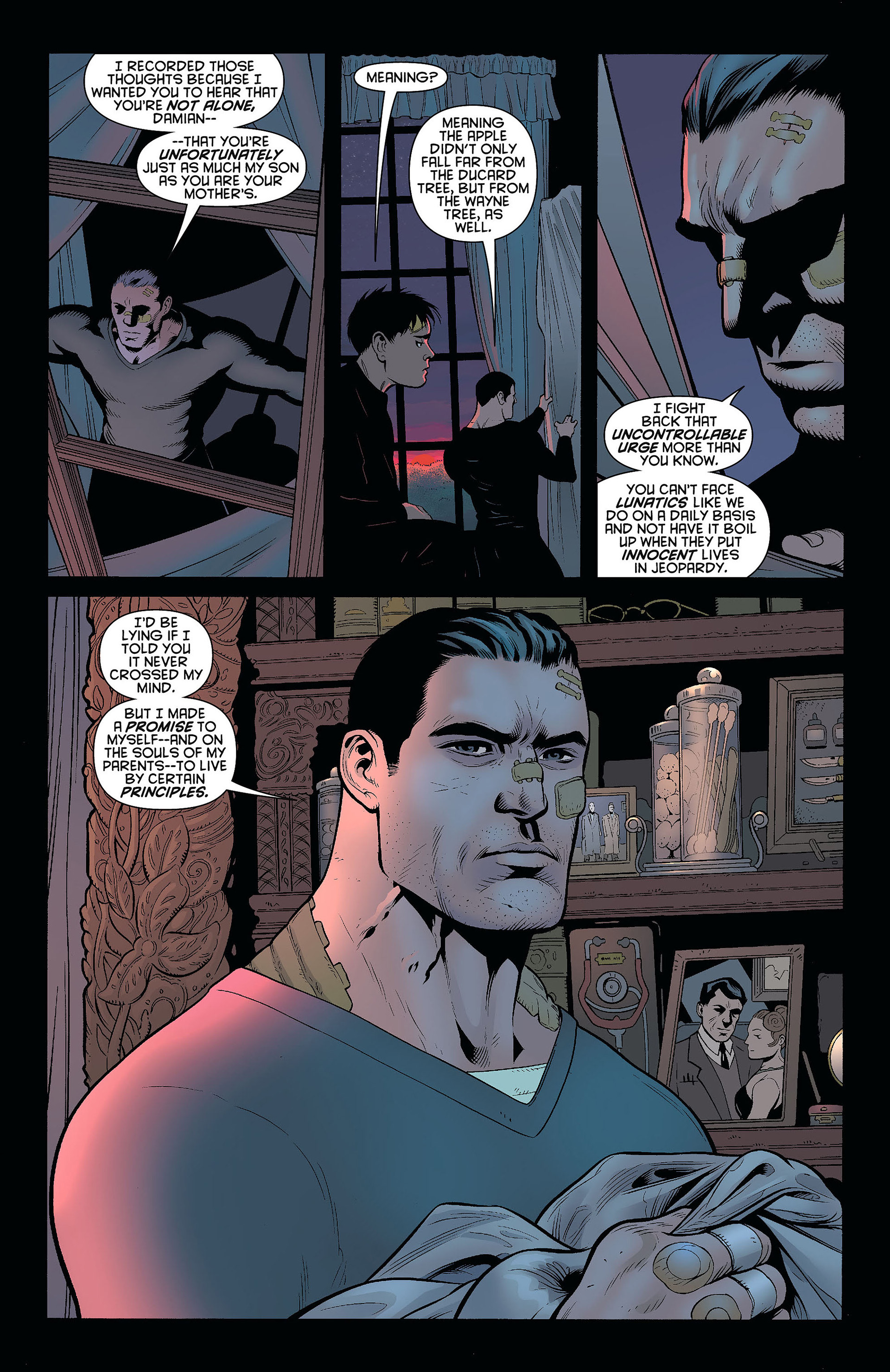 Read online Batman and Robin (2011) comic -  Issue #8 - 14