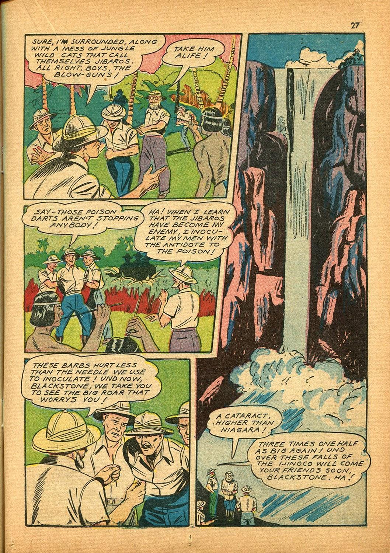 Read online Super-Magician Comics comic -  Issue #9 - 27
