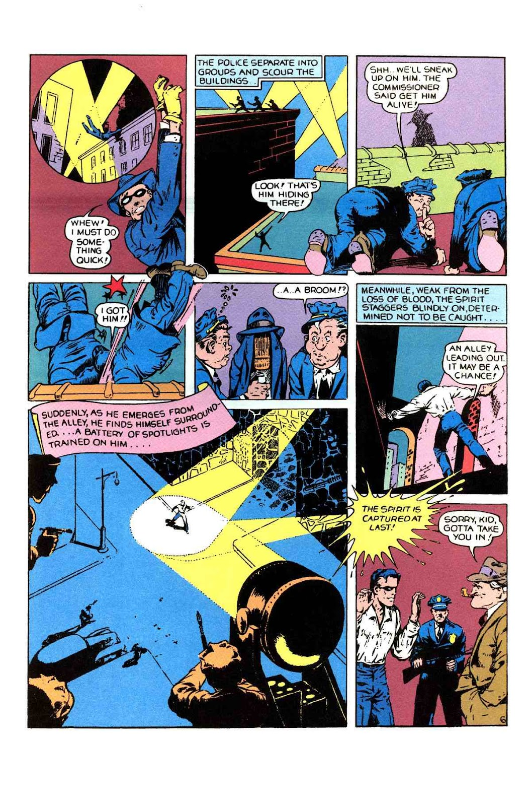 Read online Will Eisner's The Spirit Archives comic -  Issue # TPB 1 (Part 1) - 56