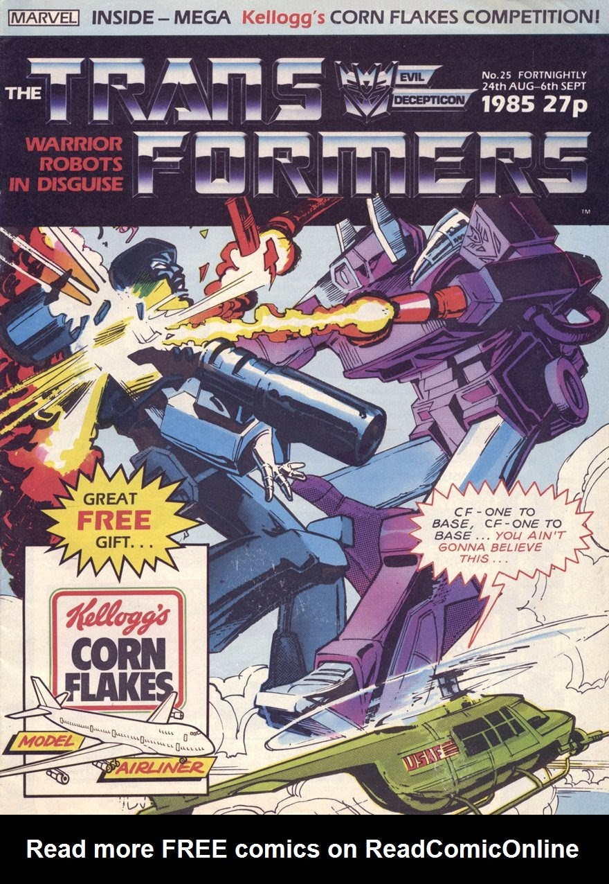 The Transformers (UK) 25 Page 1