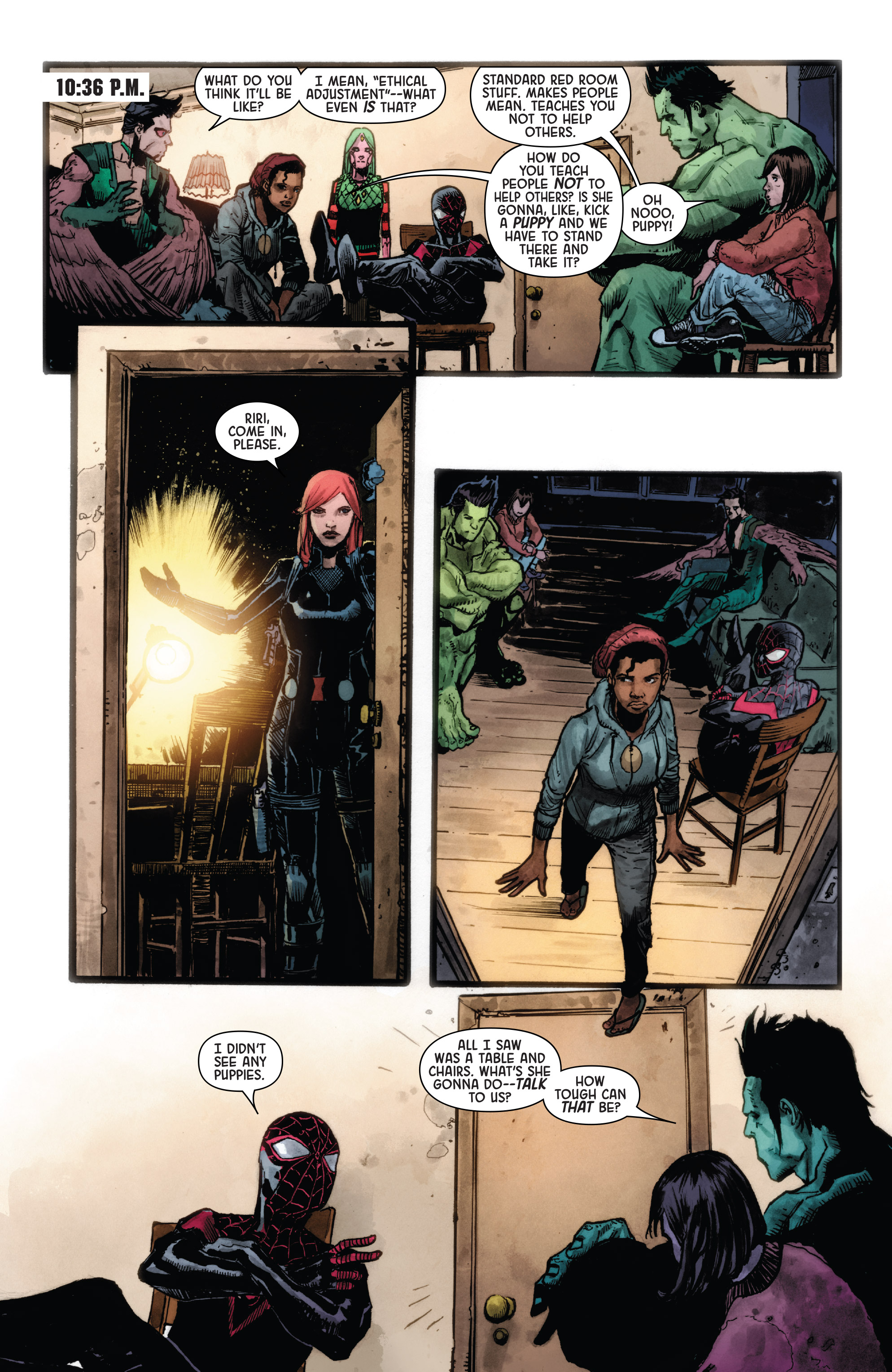 Read online Secret Empire: Uprising comic -  Issue # Full - 7