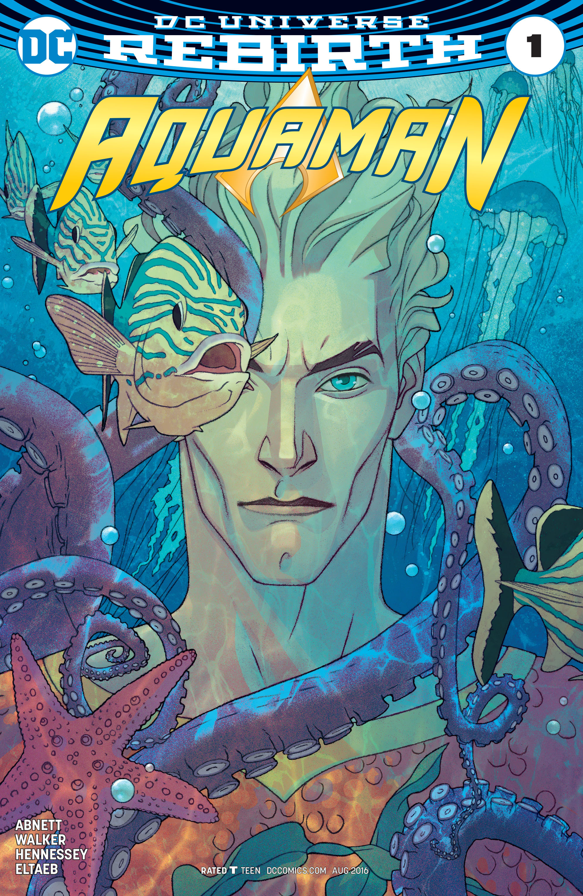 Read online Aquaman (2016) comic -  Issue #1 - 3