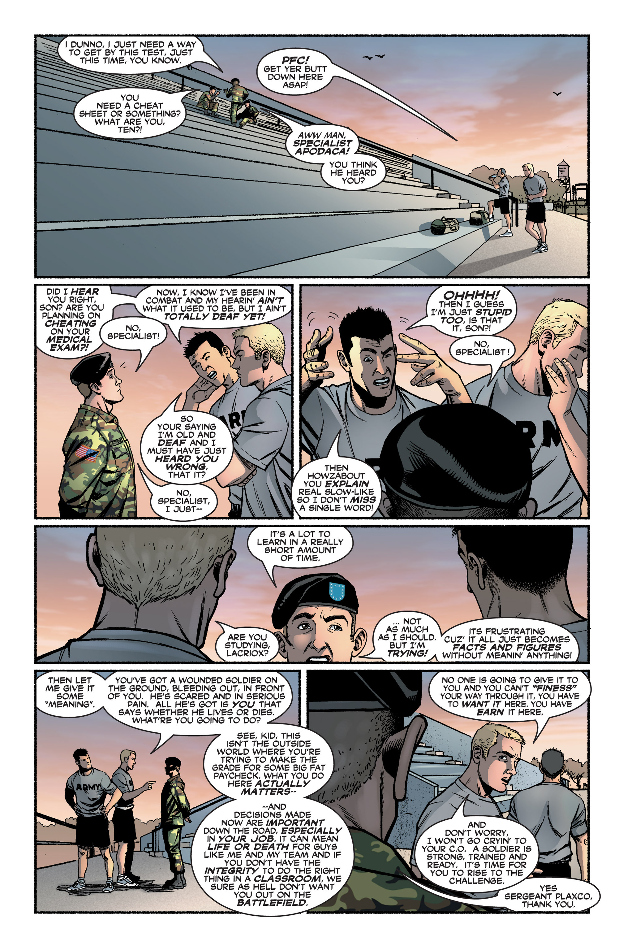 Read online America's Army comic -  Issue #2 - 14