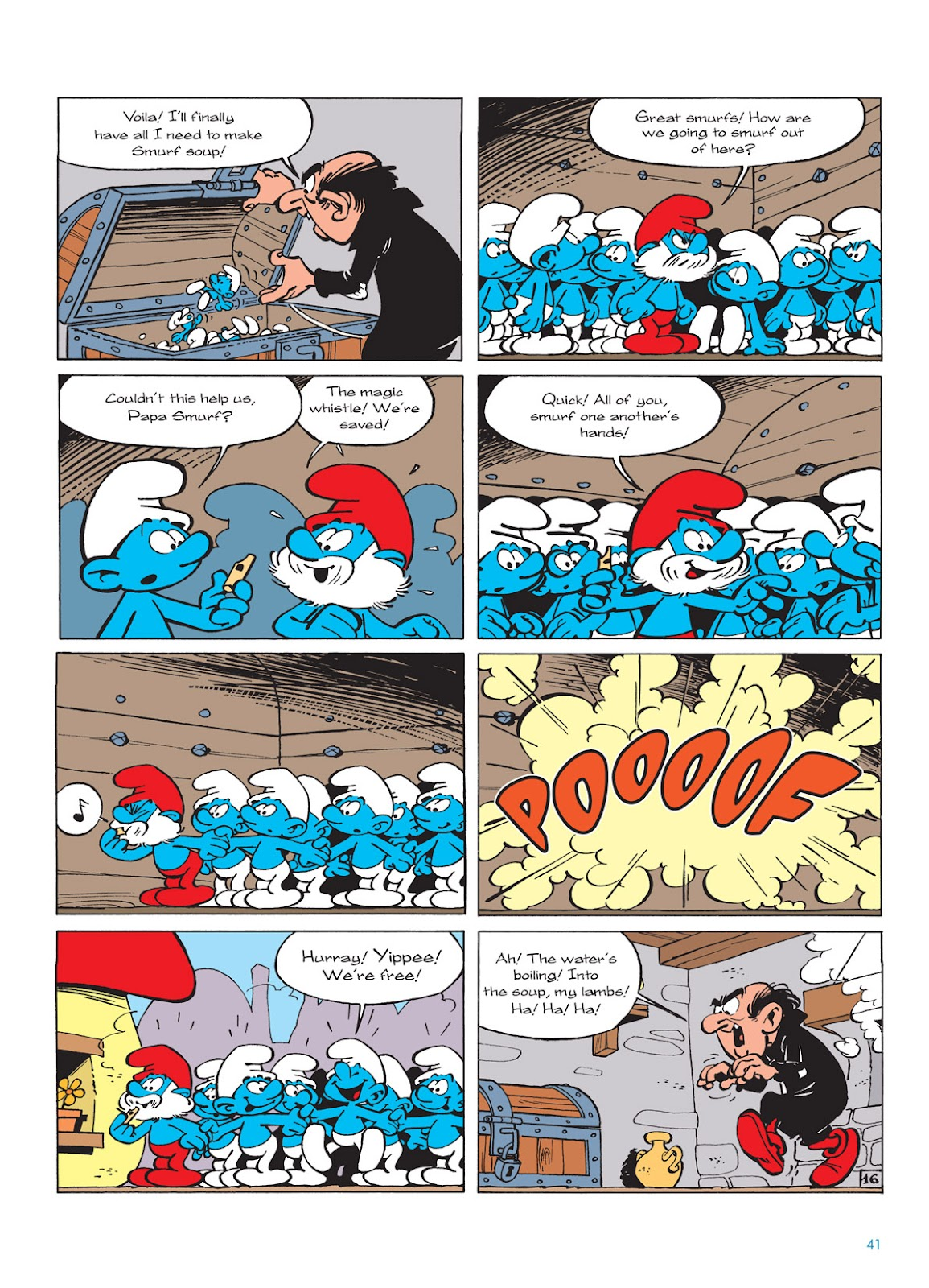 Read online The Smurfs comic -  Issue #9 - 41