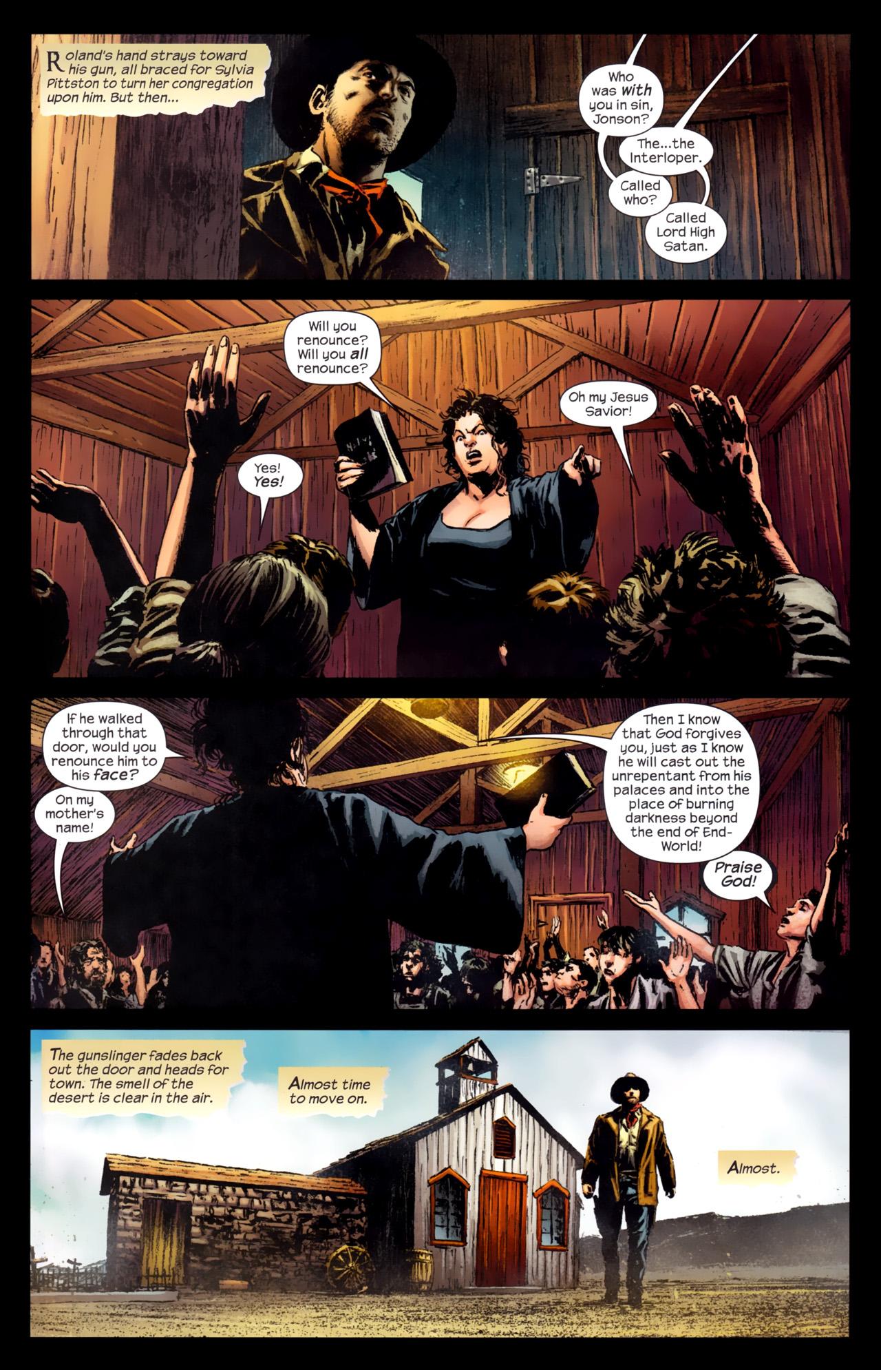 Read online Dark Tower: The Gunslinger - The Battle of Tull comic -  Issue #4 - 3
