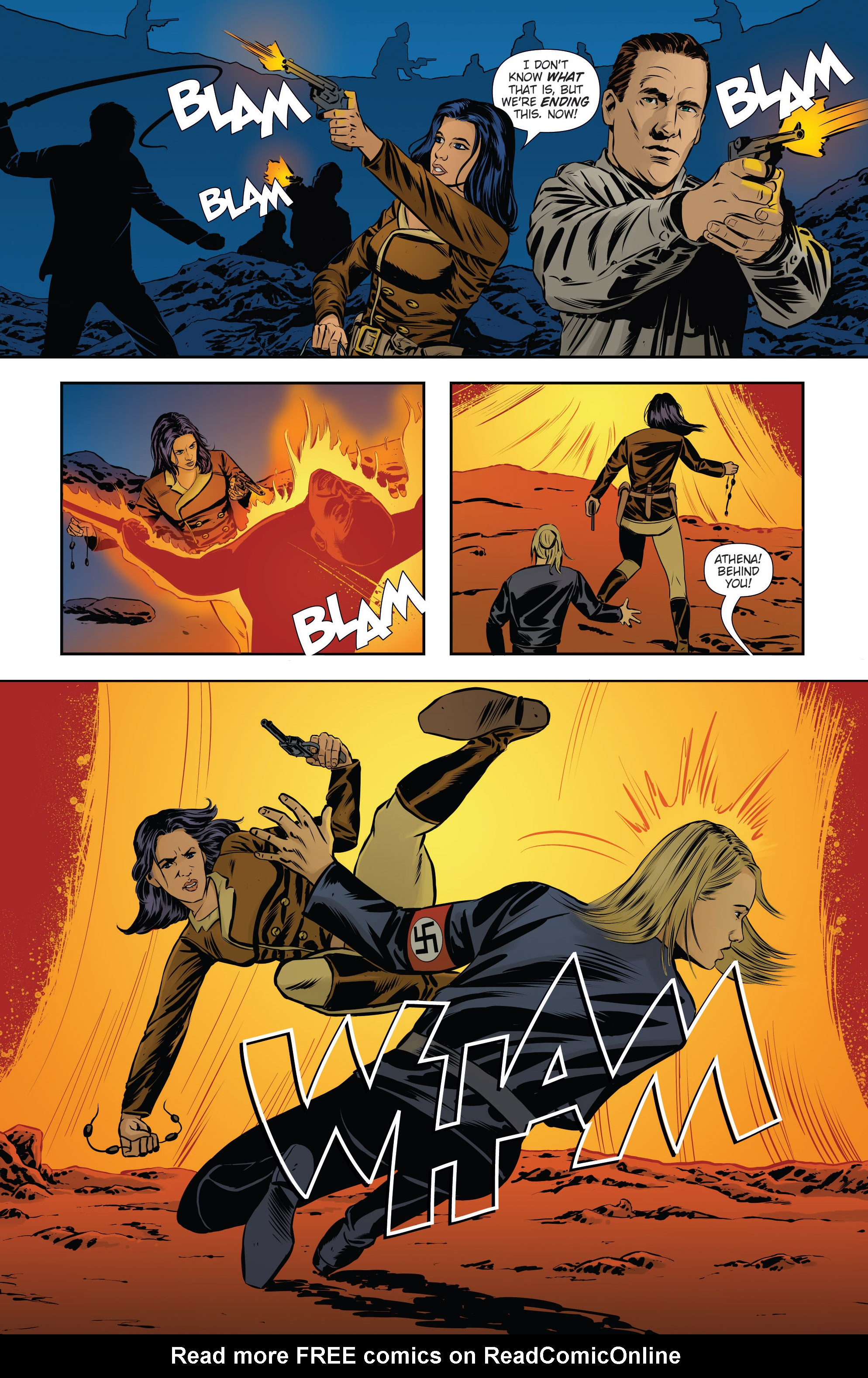 Read online Athena Voltaire and the Volcano Goddess comic -  Issue #3 - 21