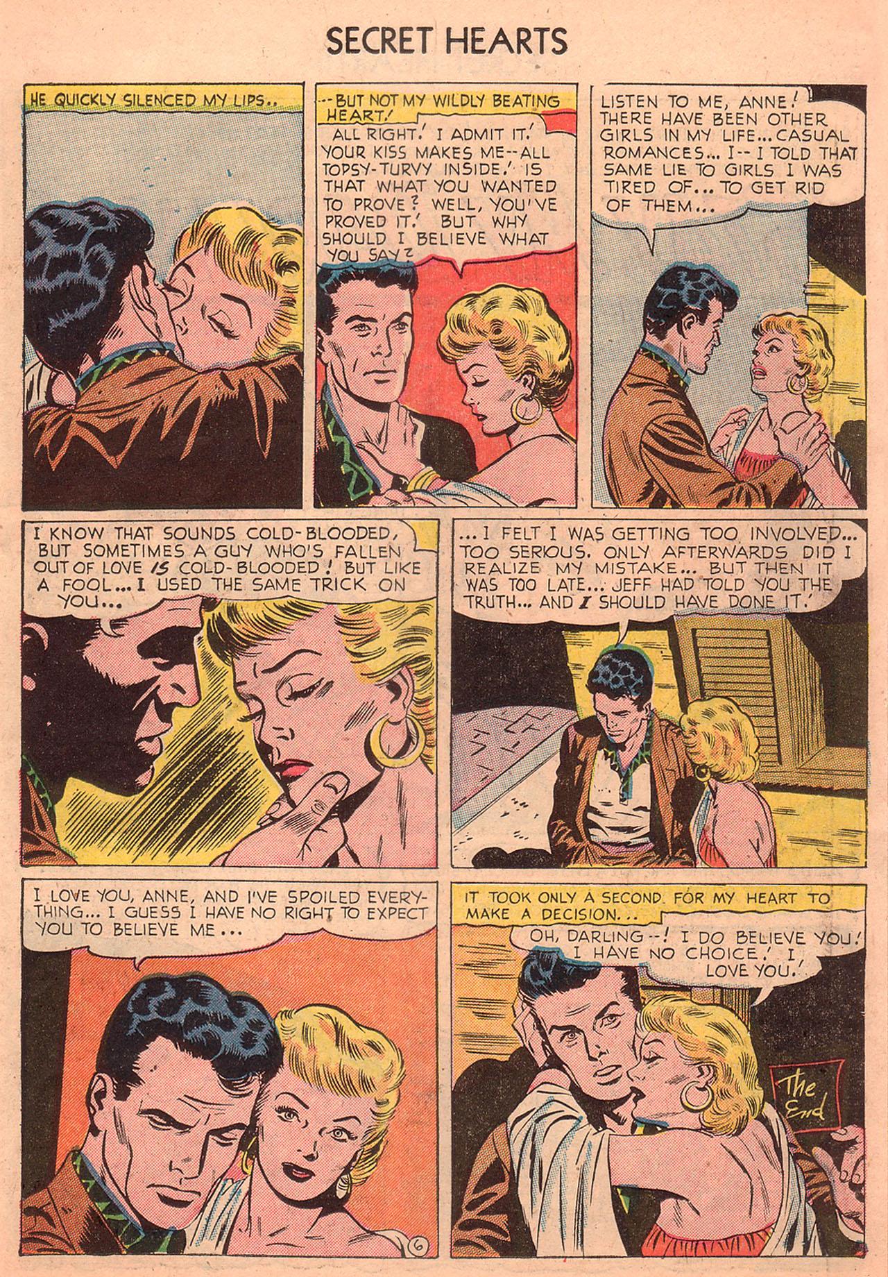 Read online Secret Hearts comic -  Issue #23 - 15