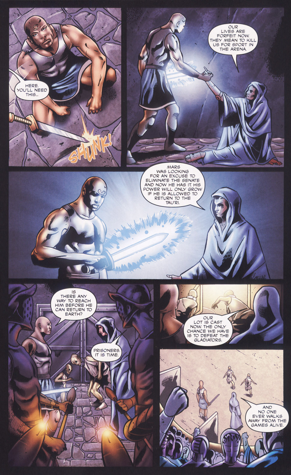 Read online Stargate SG-1: Fall of Rome comic -  Issue #2 - 21