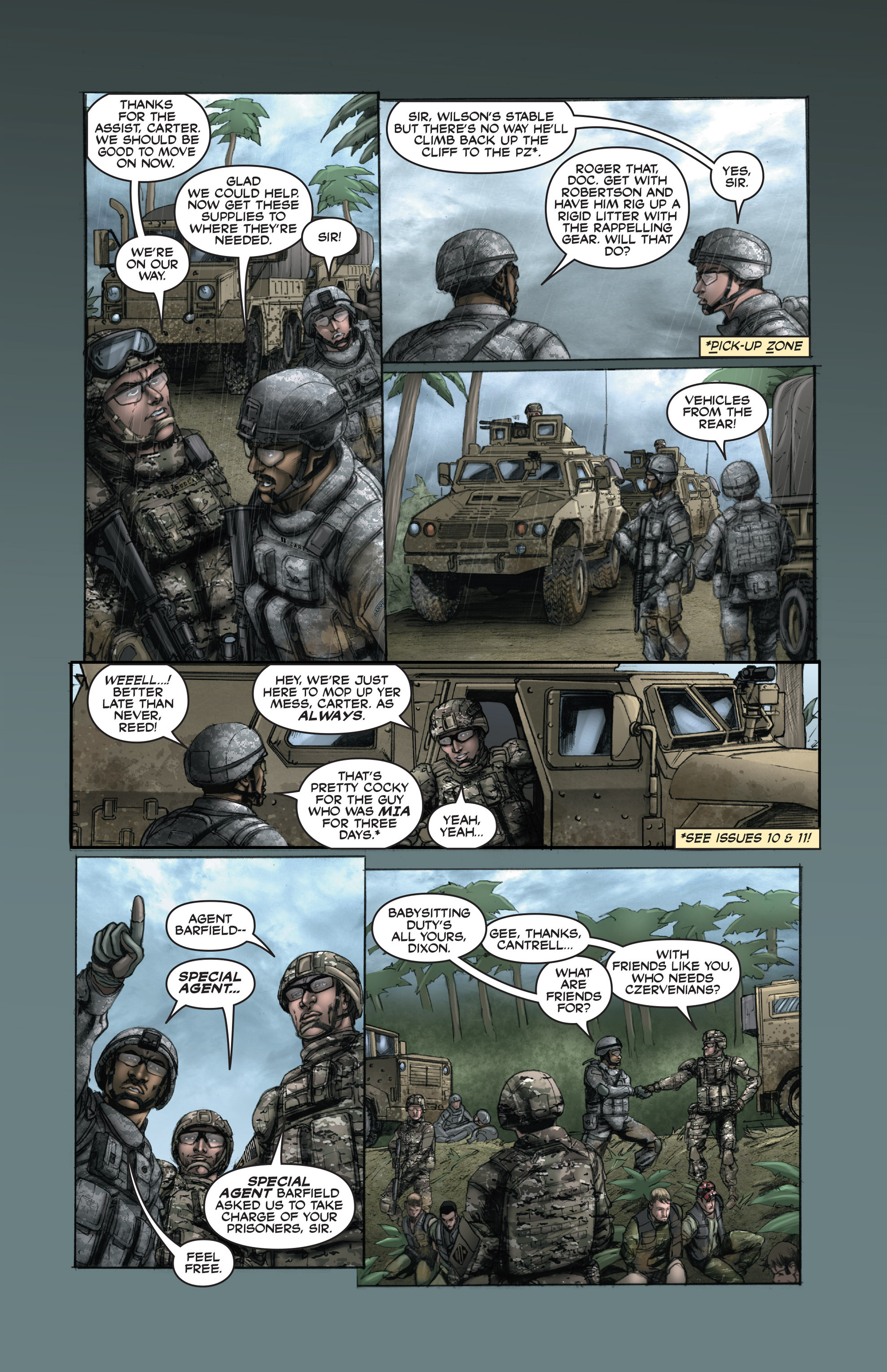 Read online America's Army comic -  Issue #15 - 23