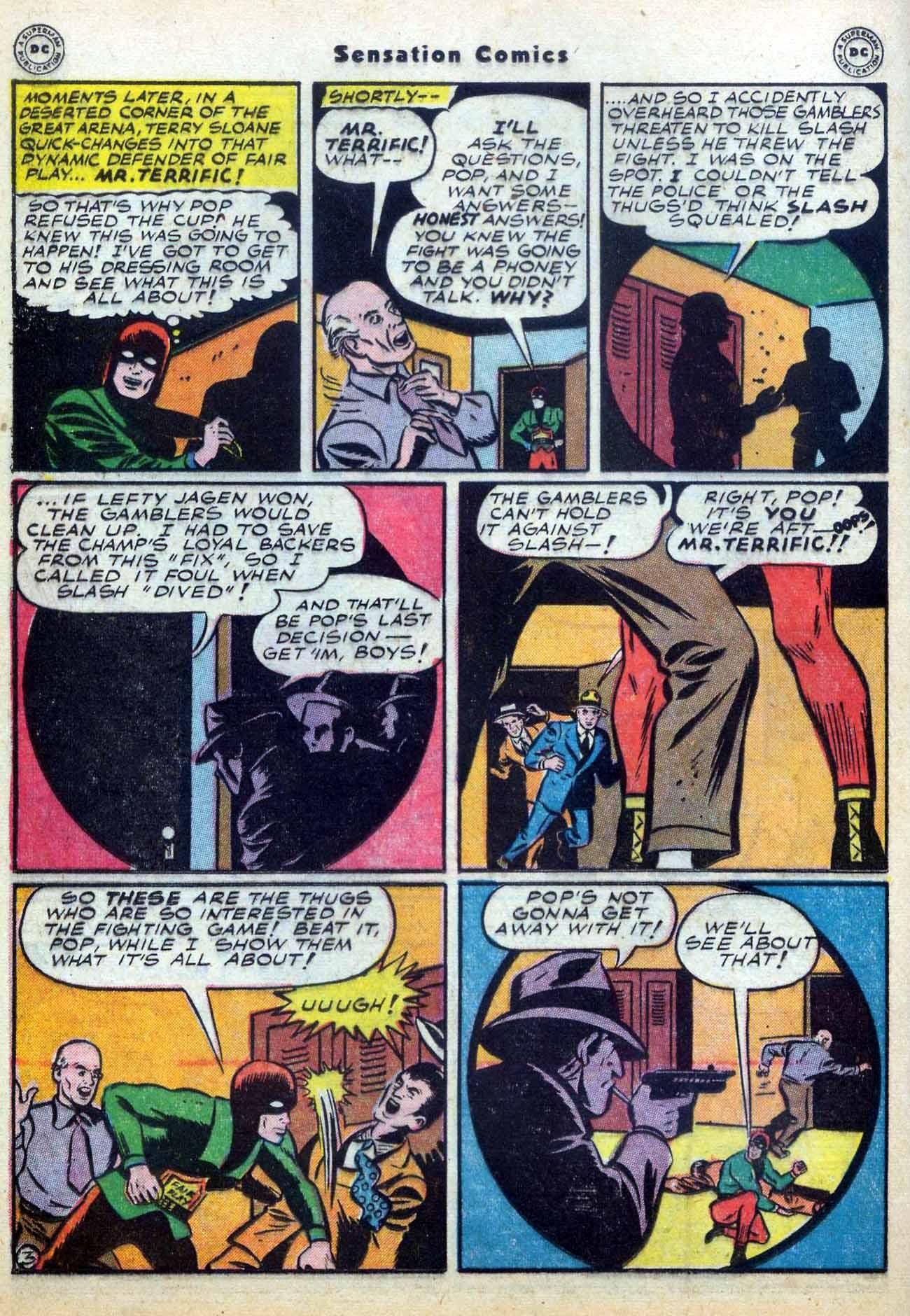 Read online Sensation (Mystery) Comics comic -  Issue #59 - 34