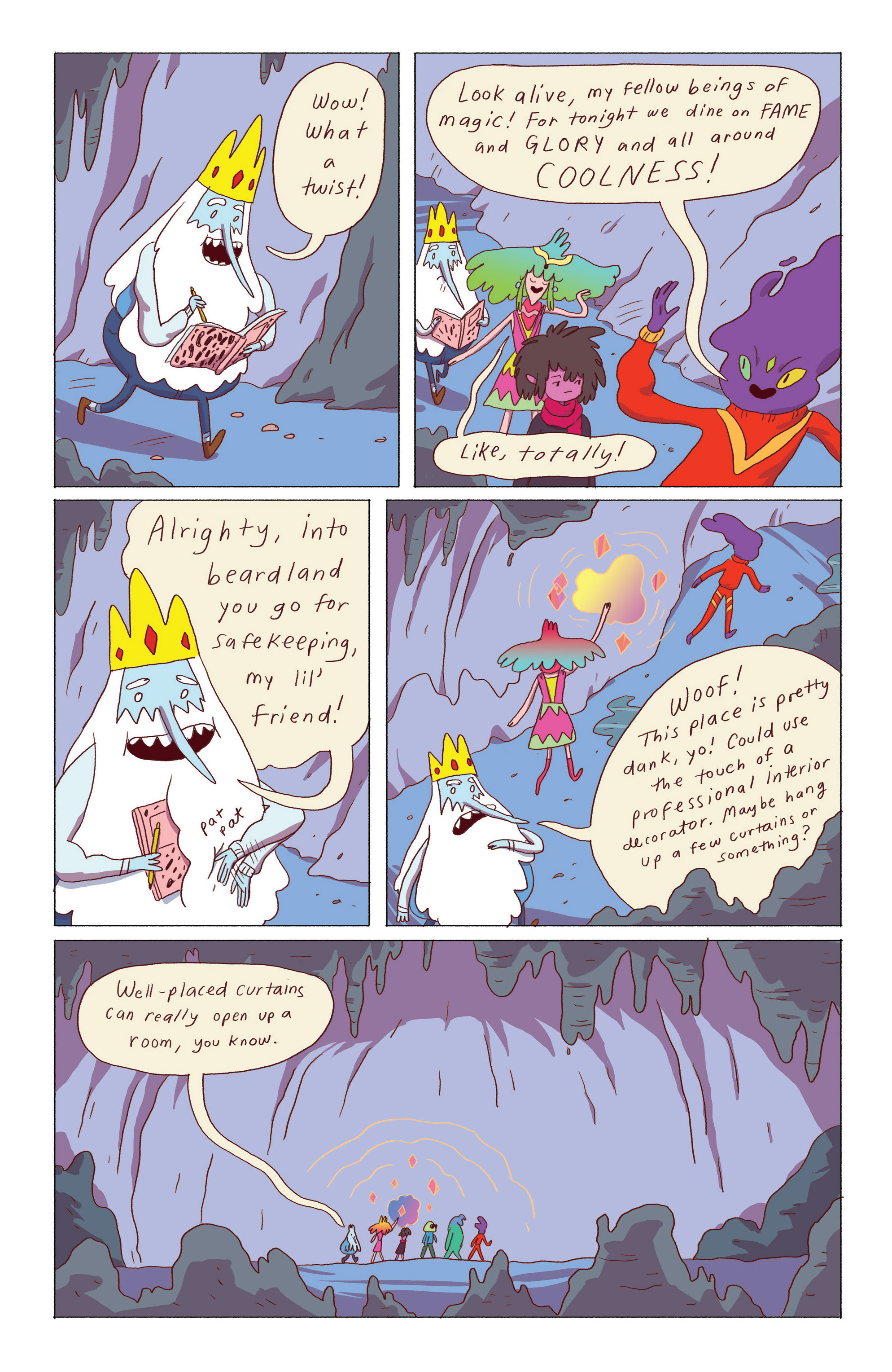 Read online Adventure Time: Ice King comic -  Issue #5 - 4