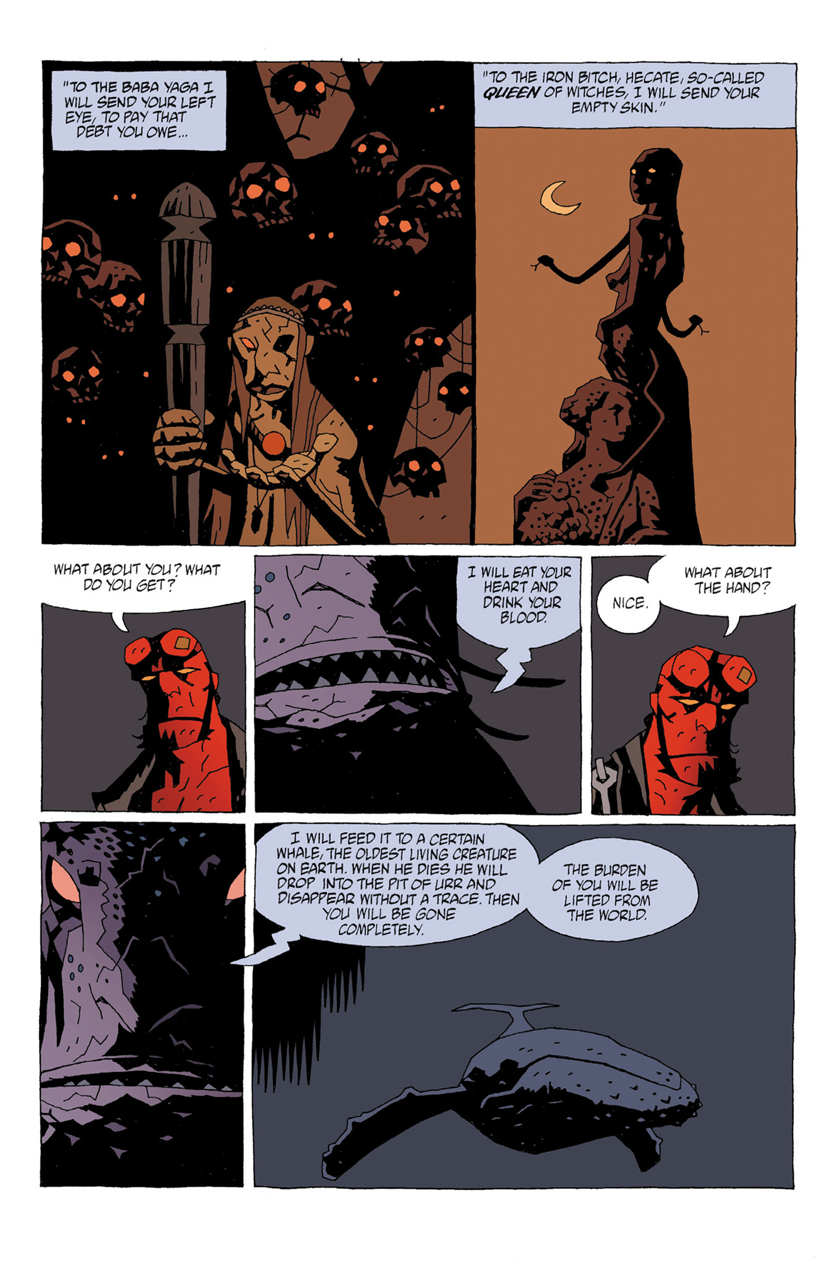 Read online Hellboy: Strange Places comic -  Issue # TPB - 44
