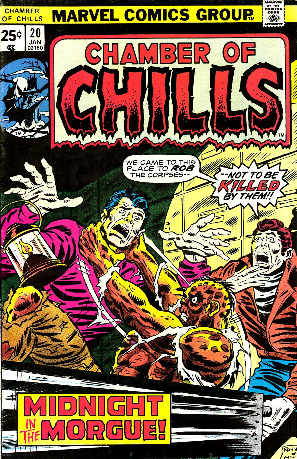 Chamber of Chills (1972) issue 20 - Page 1