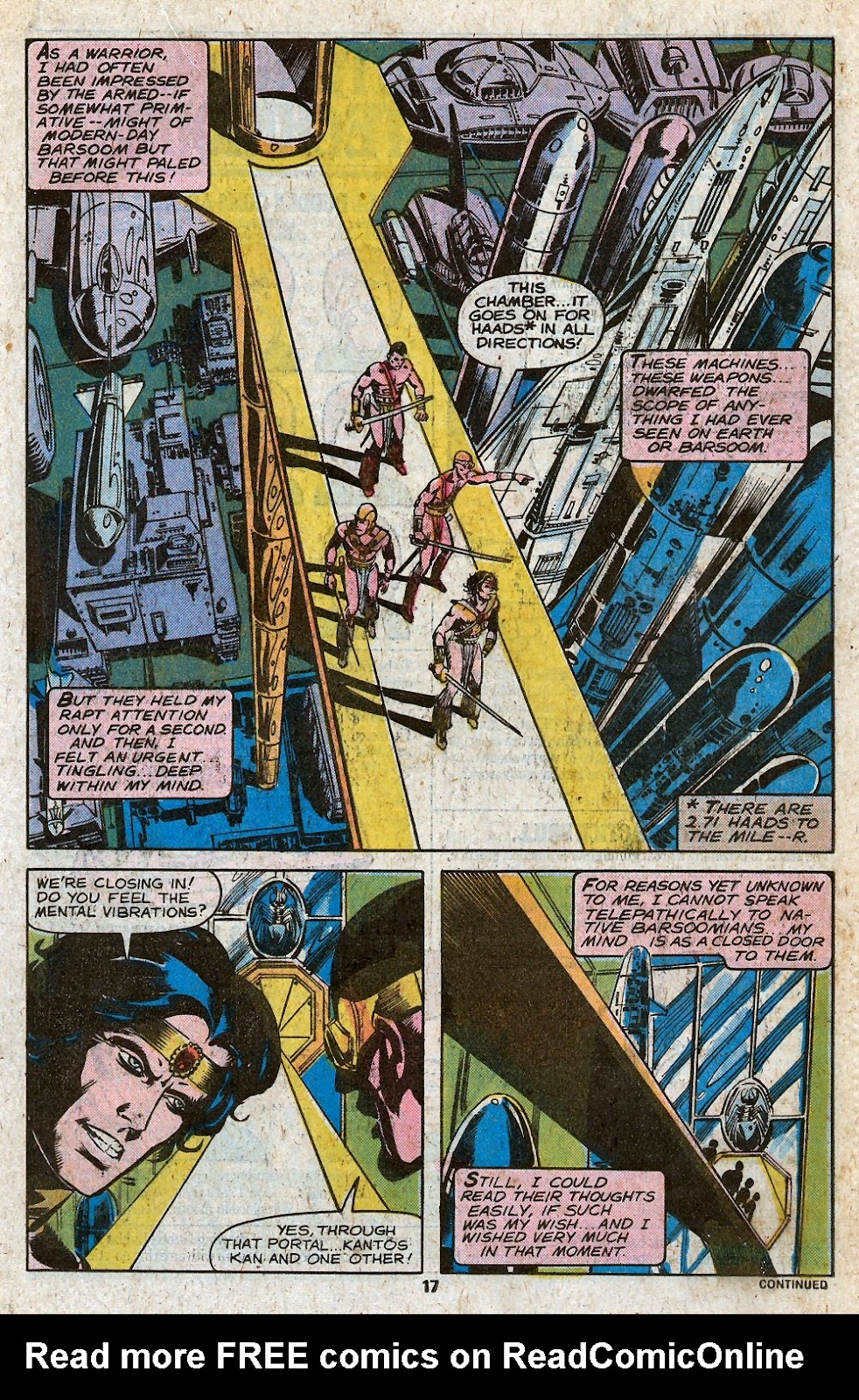 John Carter Warlord of Mars issue 28 - Page 19