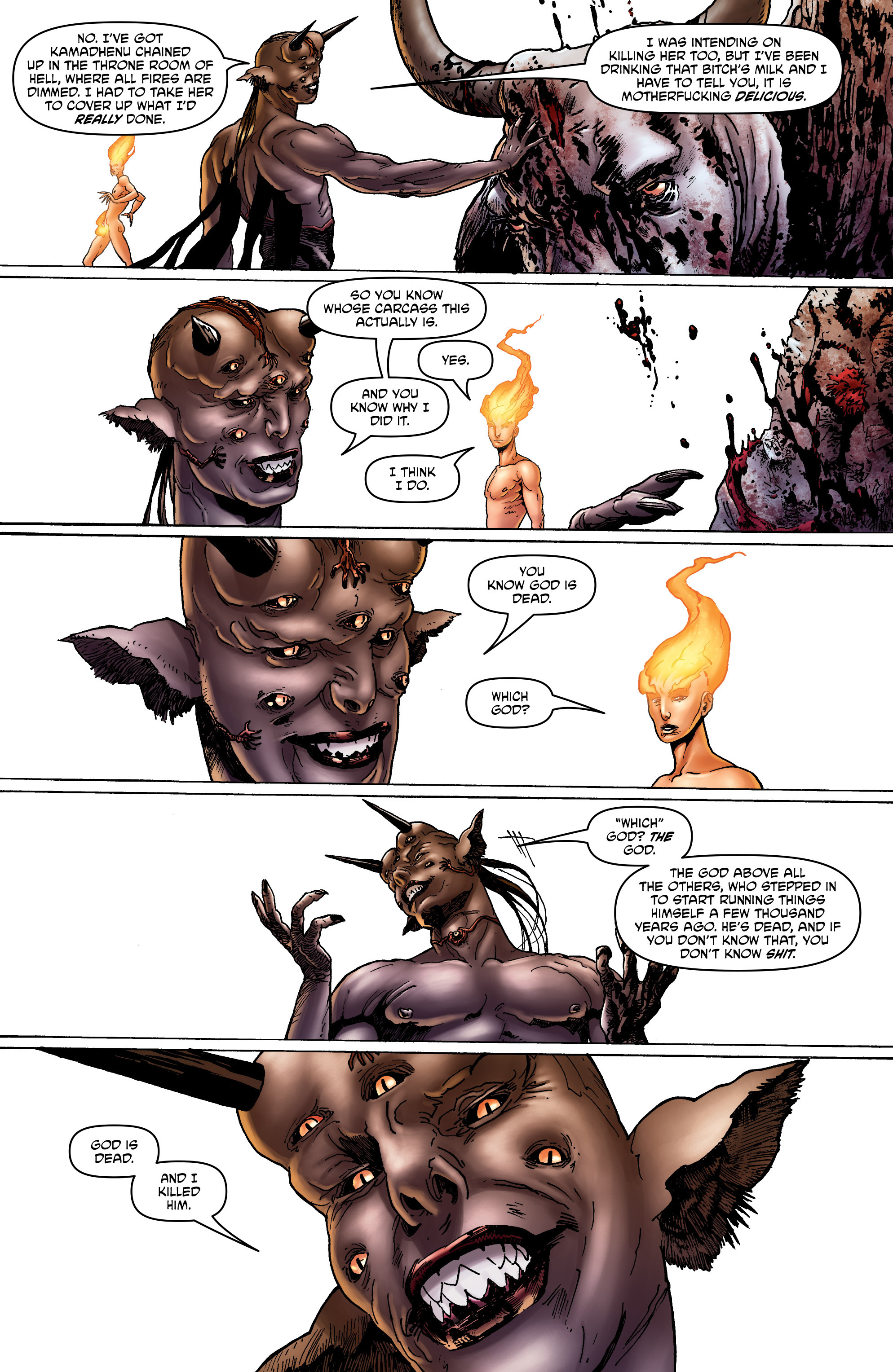 Read online God is Dead: Book of Acts comic -  Issue # Omega - 12