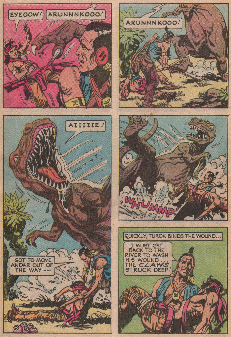 Read online Turok, Son of Stone comic -  Issue #116 - 28