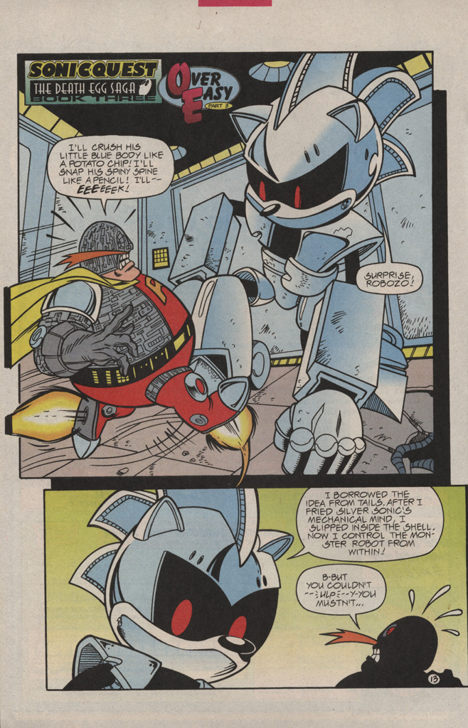 Read online Sonic Quest - The Death Egg Saga comic -  Issue #3 - 20