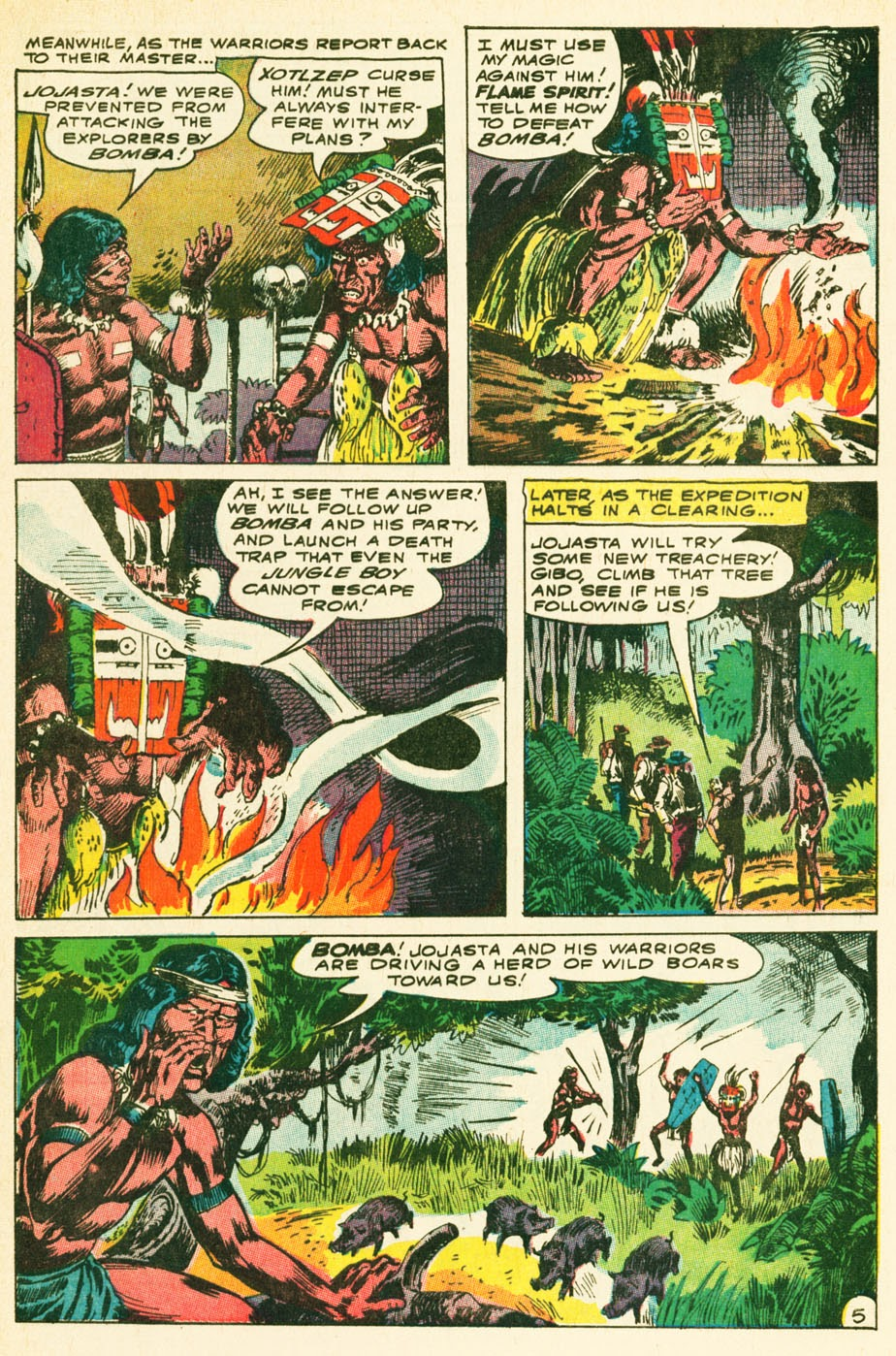 Bomba, The Jungle Boy issue 1 - Page 6