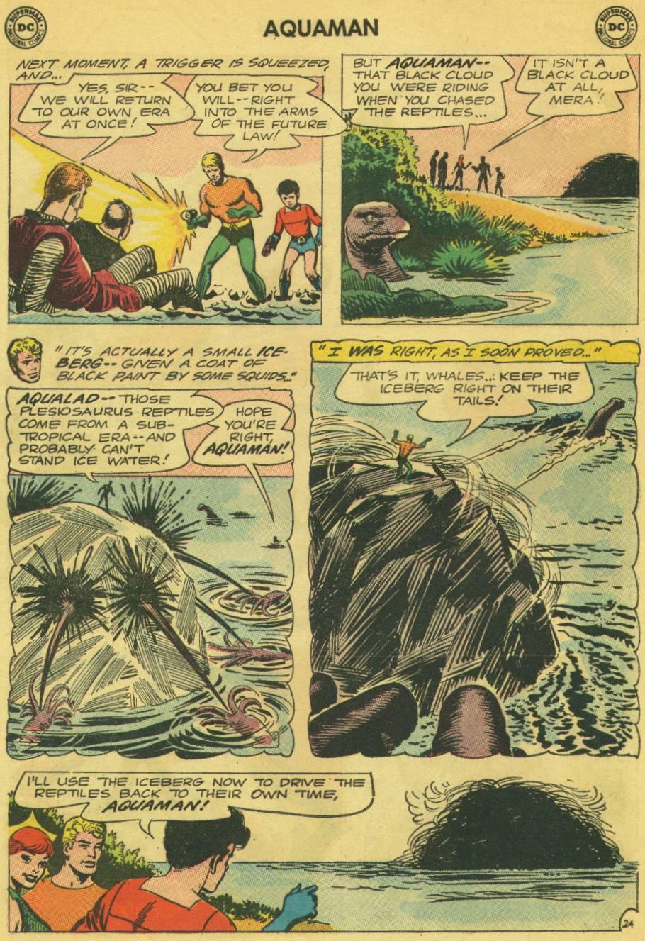 Read online Aquaman (1962) comic -  Issue #13 - 31