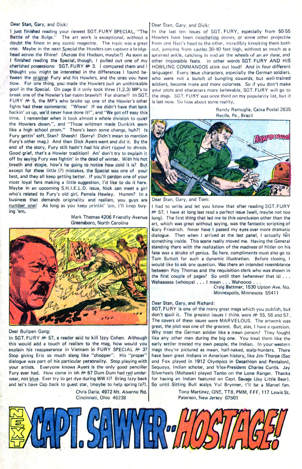 Read online Sgt. Fury comic -  Issue #60 - 33